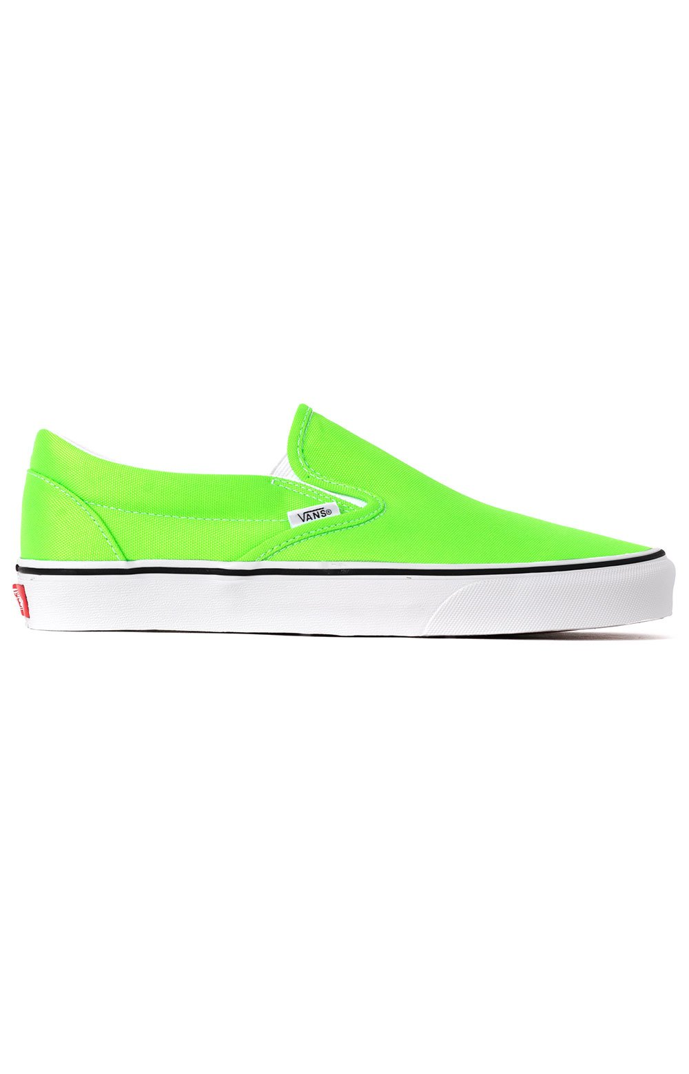 (U38WT5) Neon Classic Slip-On Shoes - Green Gecko