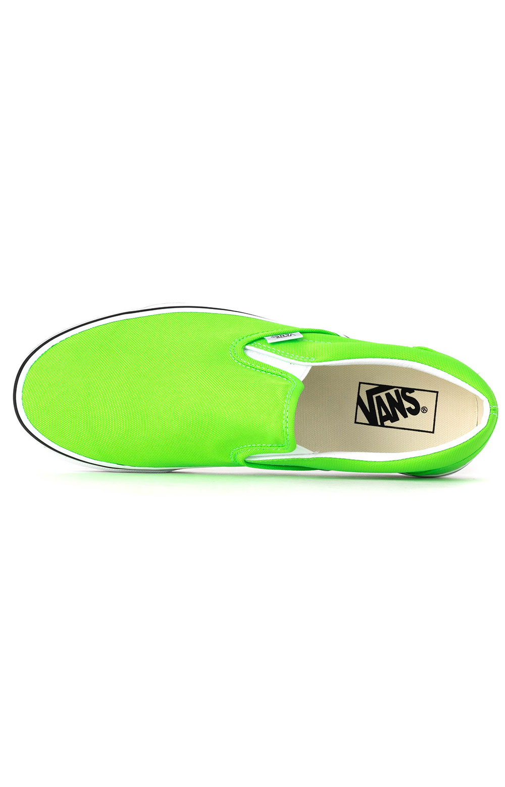 (U38WT5) Neon Classic Slip-On Shoes - Green Gecko 2
