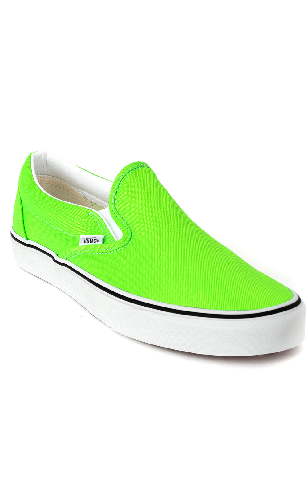 (U38WT5) Neon Classic Slip-On Shoes - Green Gecko 3