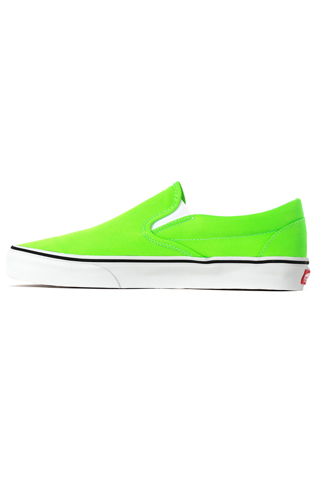 (U38WT5) Neon Classic Slip-On Shoes - Green Gecko 4
