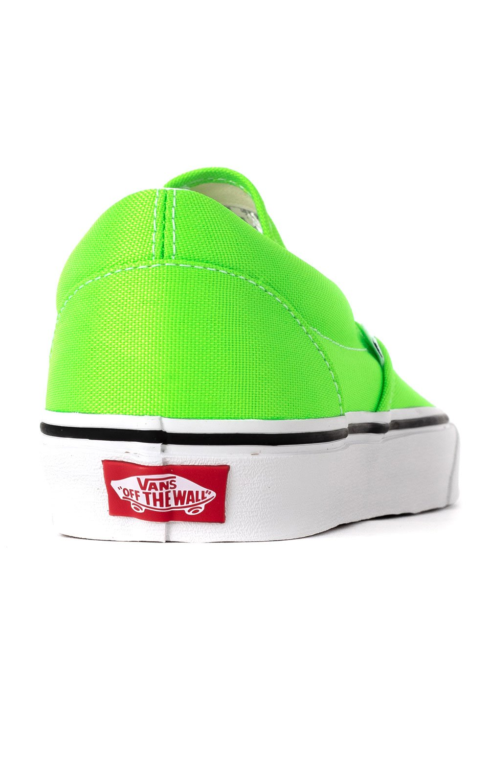 (U38WT5) Neon Classic Slip-On Shoes - Green Gecko 5