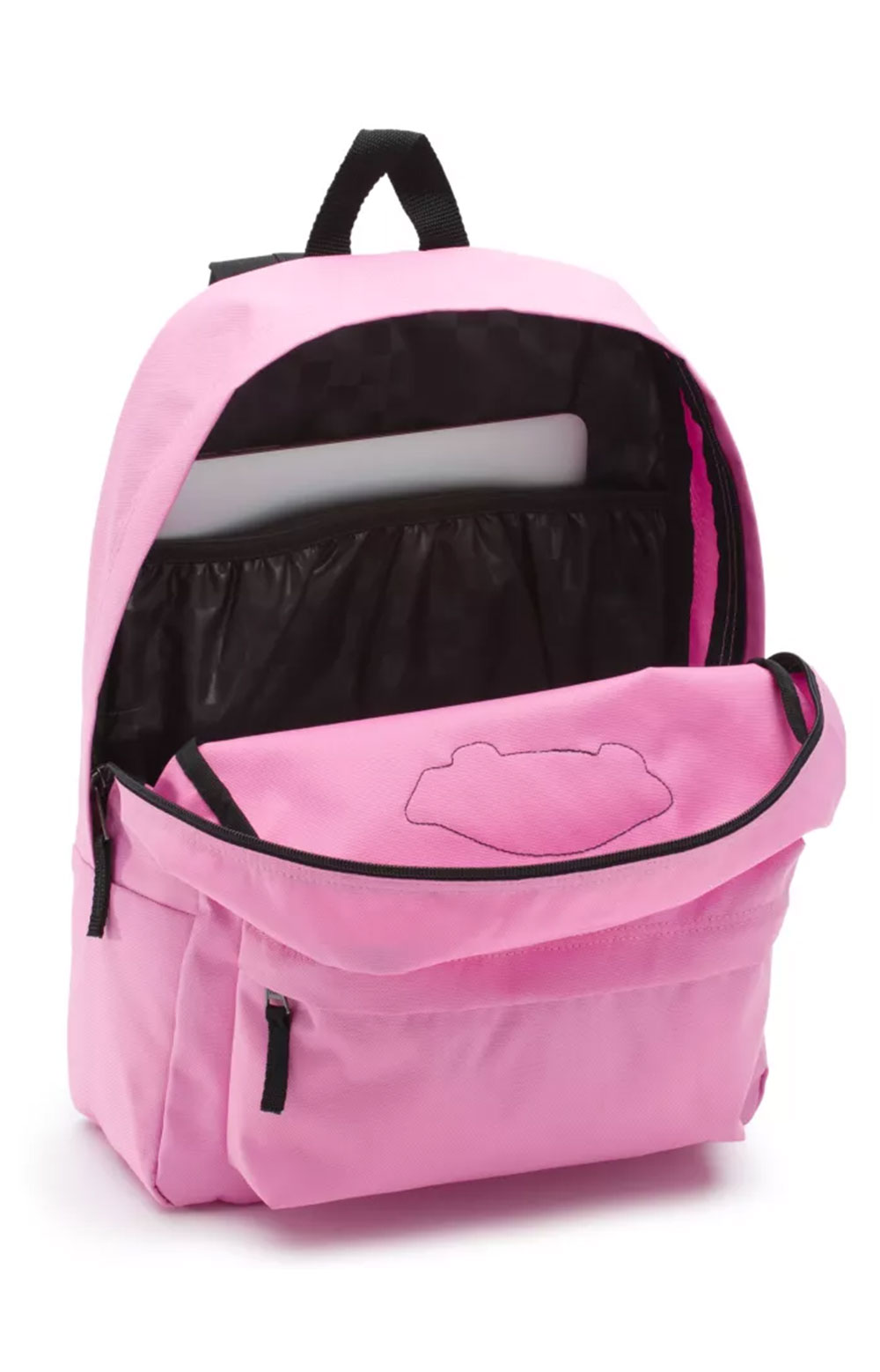 Realm Solid Backpack - Fuchsia Pink 2