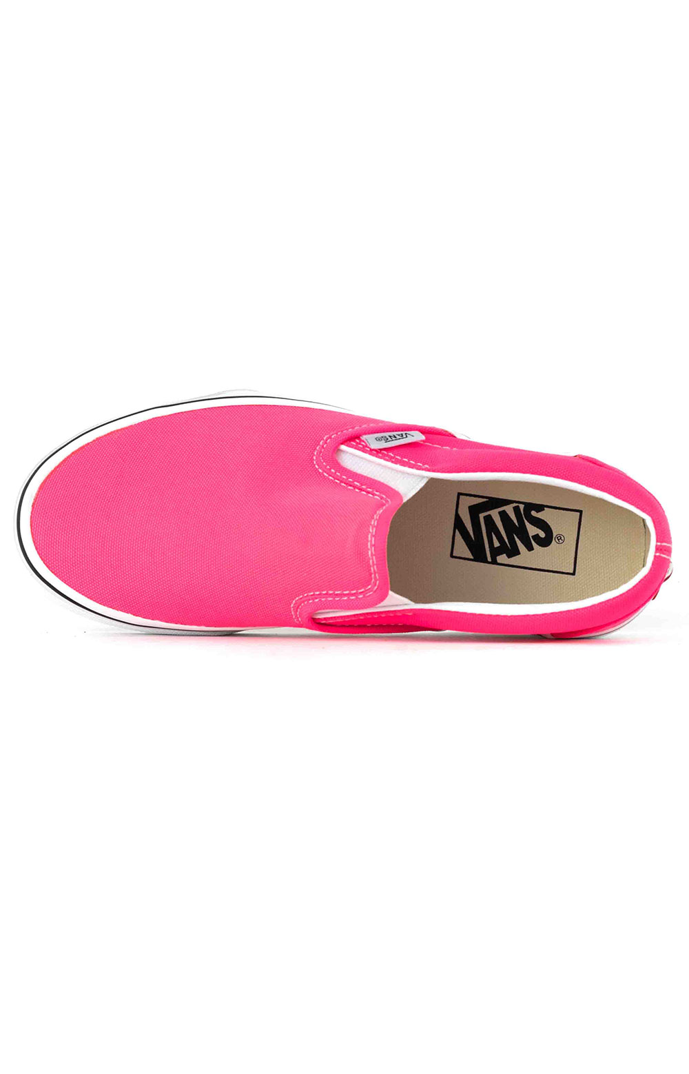(U38WT6) Neon Classic Slip-On Shoes - Knockout Pink 2