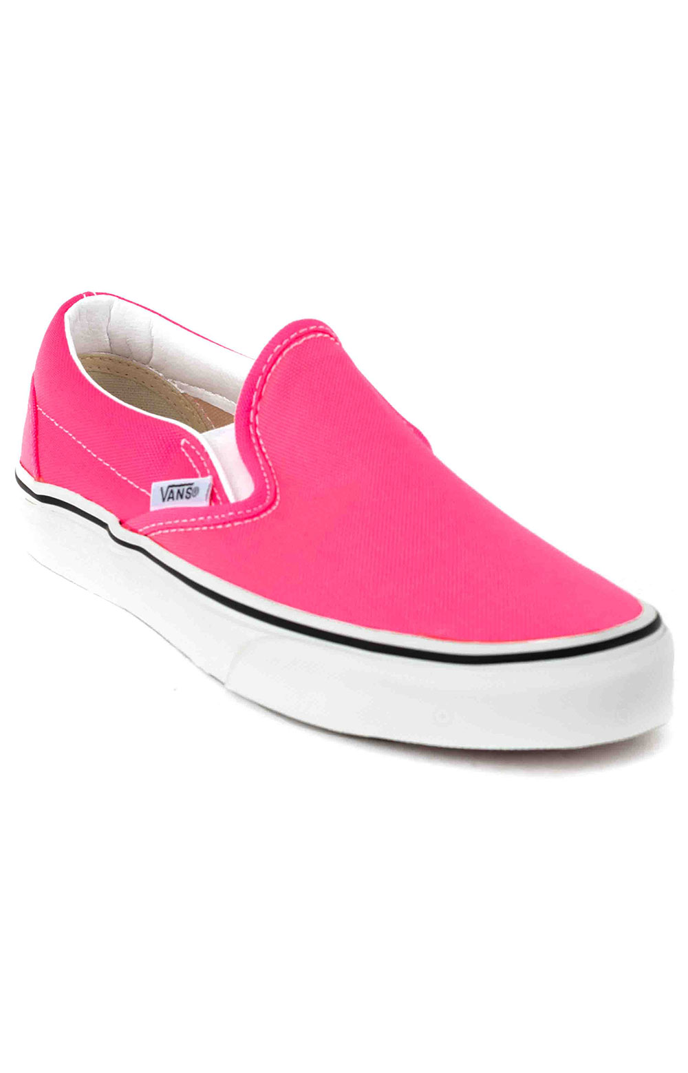 (U38WT6) Neon Classic Slip-On Shoes - Knockout Pink 3
