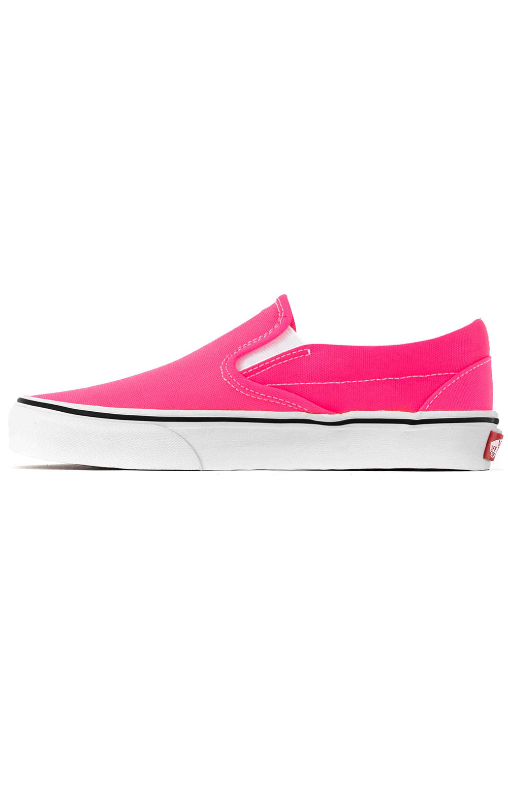 (U38WT6) Neon Classic Slip-On Shoes - Knockout Pink 4