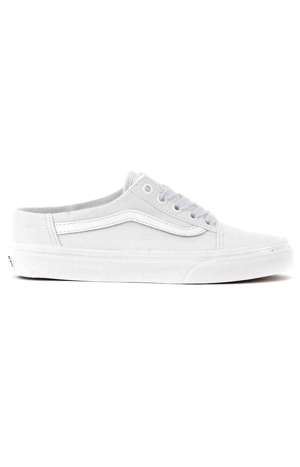 (P3YWC6) Old Skool Mule Shoe - White/True White