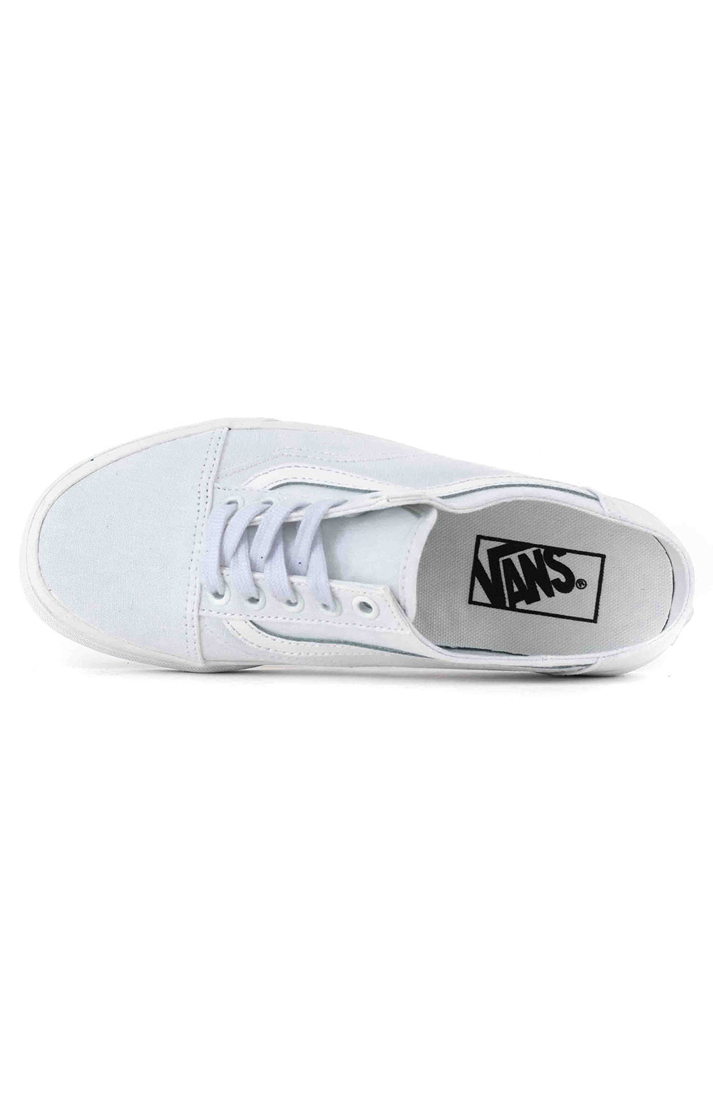(P3YWC6) Old Skool Mule Shoe - White/True White 2