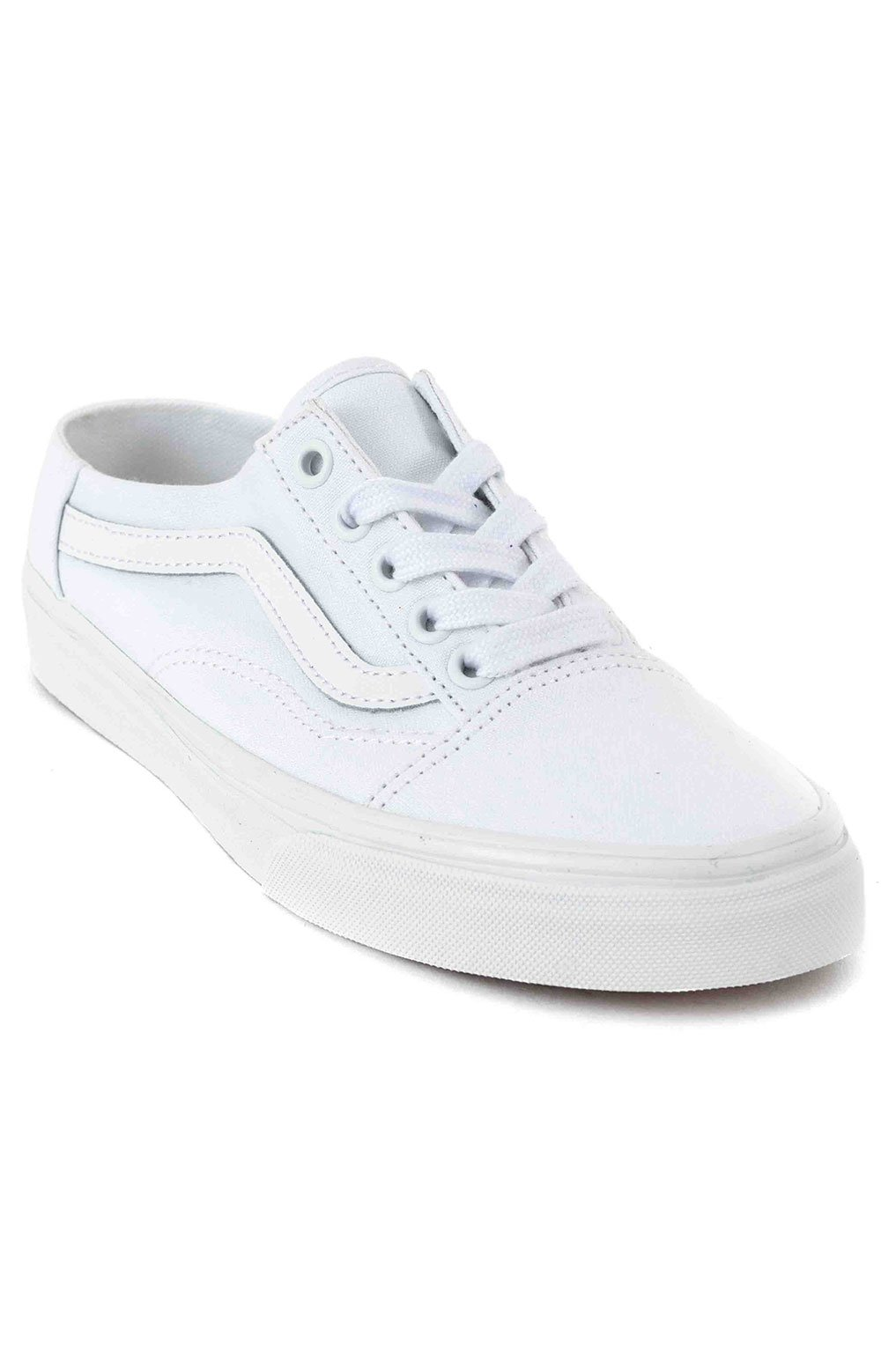 (P3YWC6) Old Skool Mule Shoe - White/True White 3