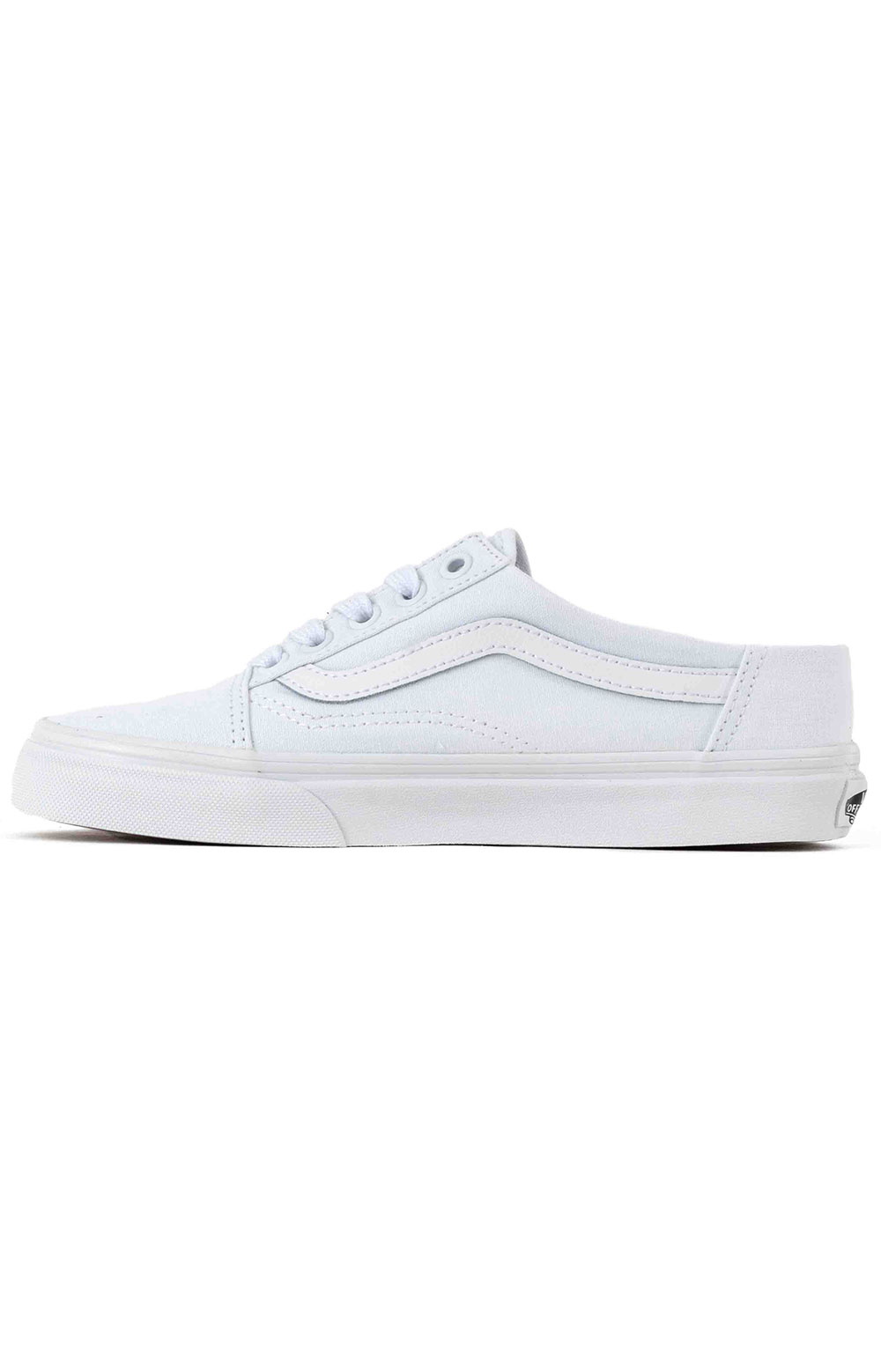 (P3YWC6) Old Skool Mule Shoe - White/True White 4
