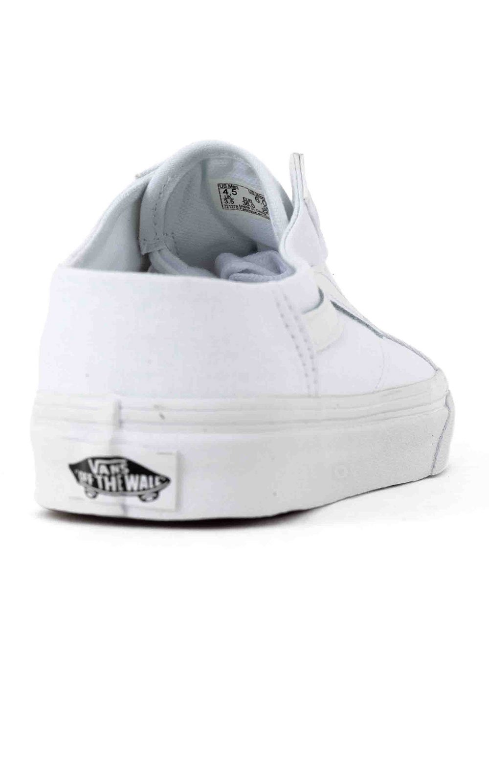 (P3YWC6) Old Skool Mule Shoe - White/True White 5