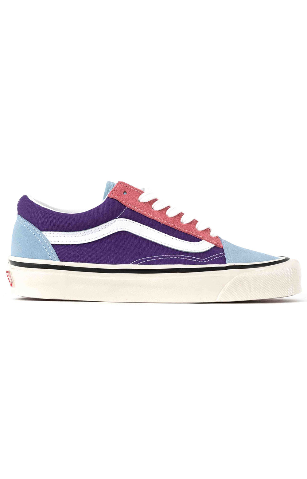 (8G2XFL) Anaheim Factory Old Skool 36 DX Shoes - OG Light Blue/OG Purple/OG Pink