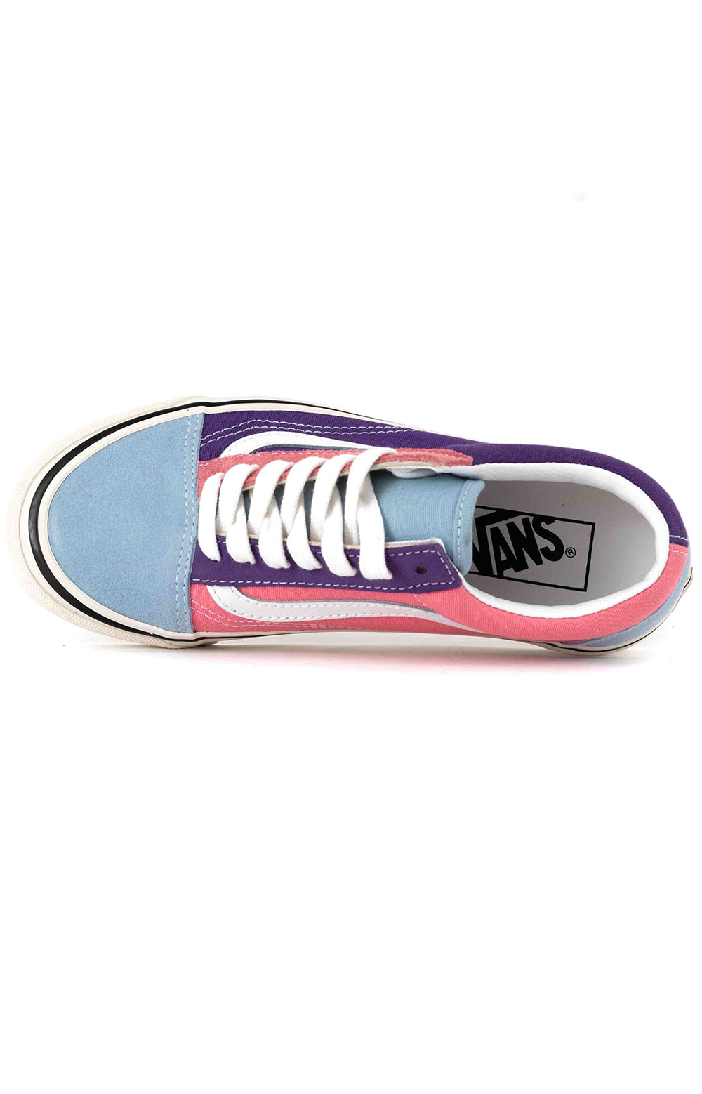(8G2XFL) Anaheim Factory Old Skool 36 DX Shoes - OG Light Blue/OG Purple/OG Pink 2