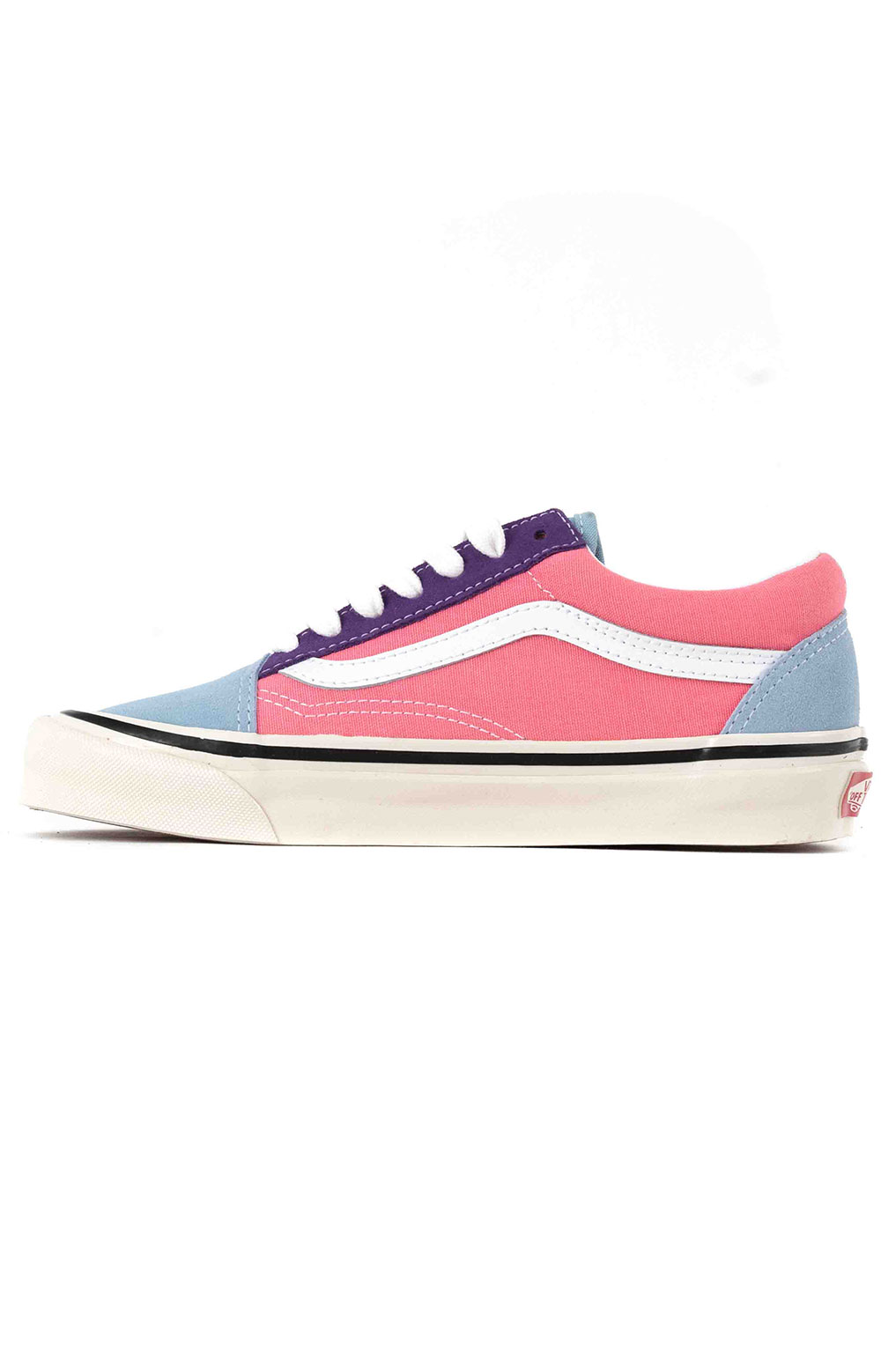 (8G2XFL) Anaheim Factory Old Skool 36 DX Shoes - OG Light Blue/OG Purple/OG Pink 4