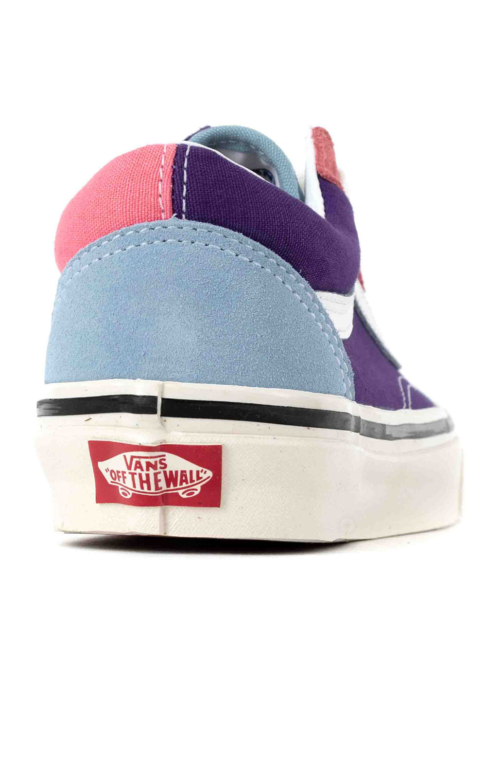 (8G2XFL) Anaheim Factory Old Skool 36 DX Shoes - OG Light Blue/OG Purple/OG Pink 5
