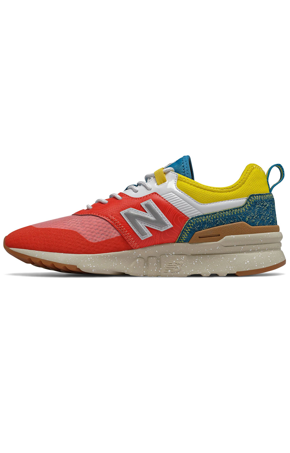 (CMT997HG) 997H Spring Hike Trail Shoes - Neo Flame/Classic Blue/Yellow 2