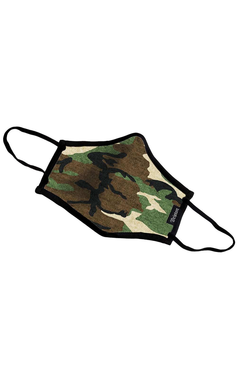 Antimicrobial 4-Way Stretch Face Mask - Camo