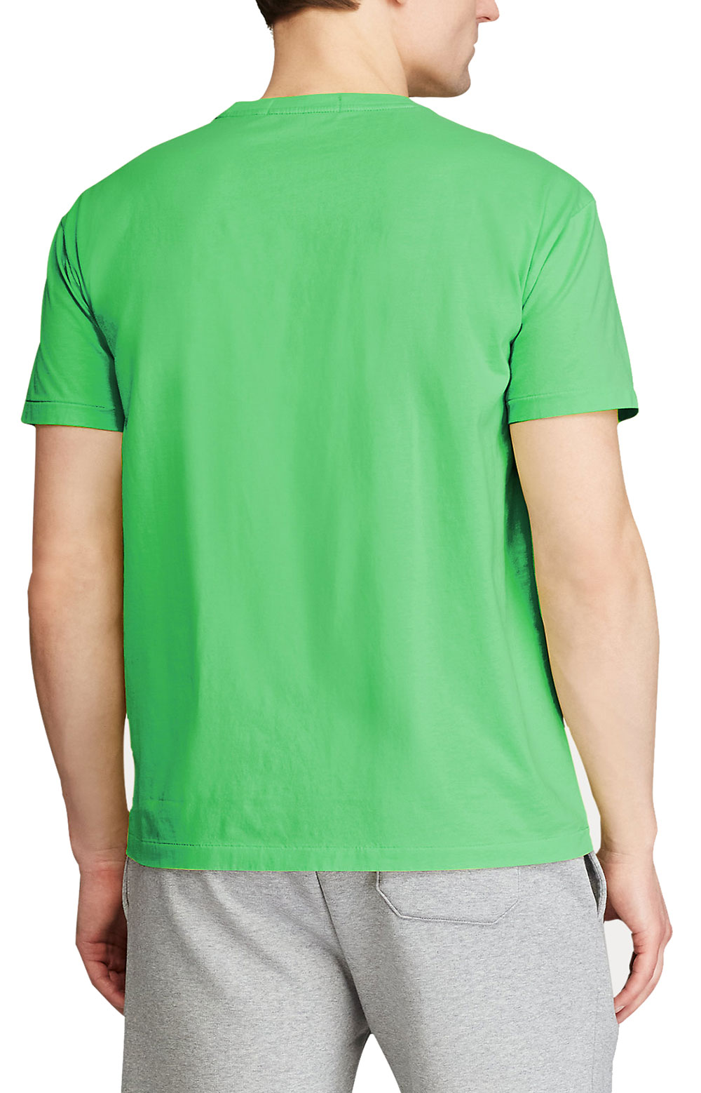 Classic Fit Polo Sport T-Shirt - Neon Green 2