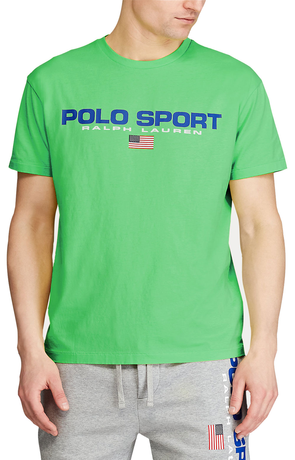 Classic Fit Polo Sport T-Shirt - Neon Green 3