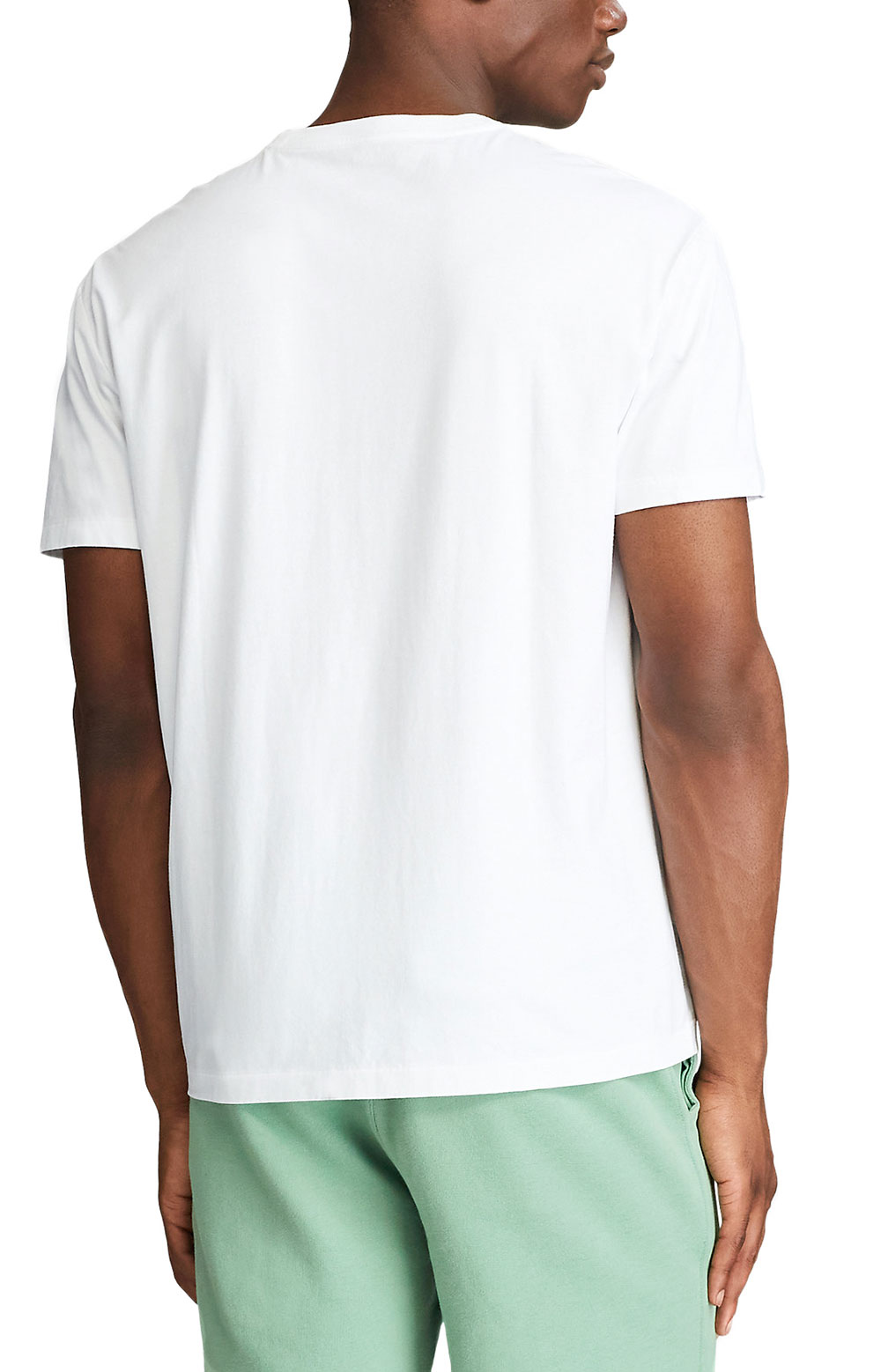 Classic Fit Logo T-Shirt - White 3