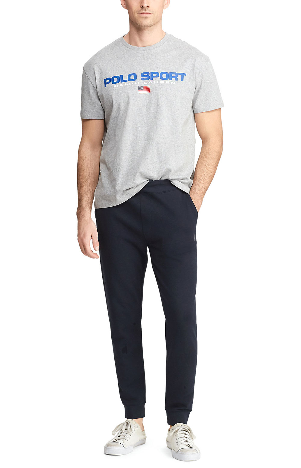 Classic Fit Polo Sport T-Shirt - Andover Heather  2