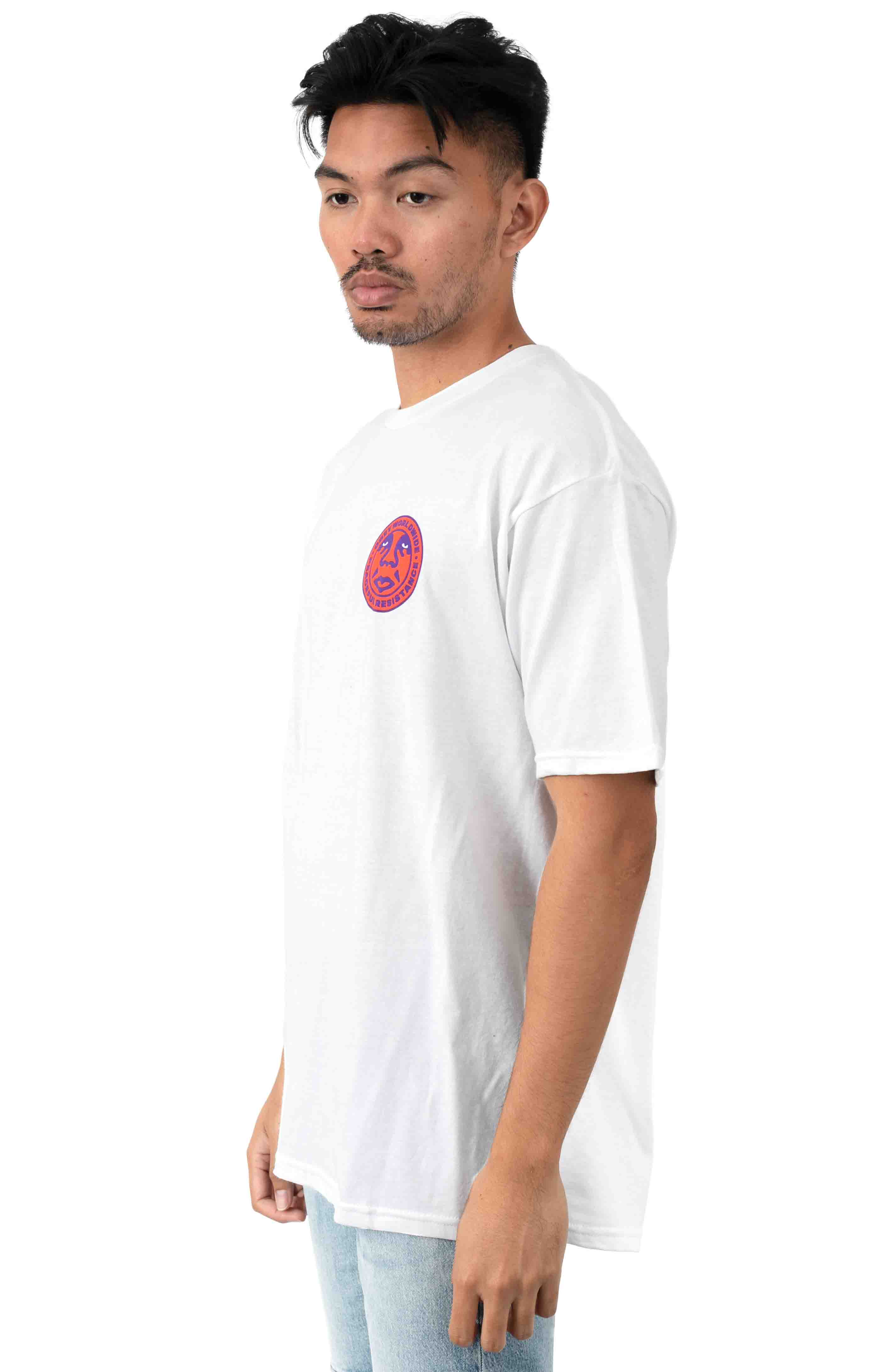 Peaceful Resistance 2 T-Shirt - White  3