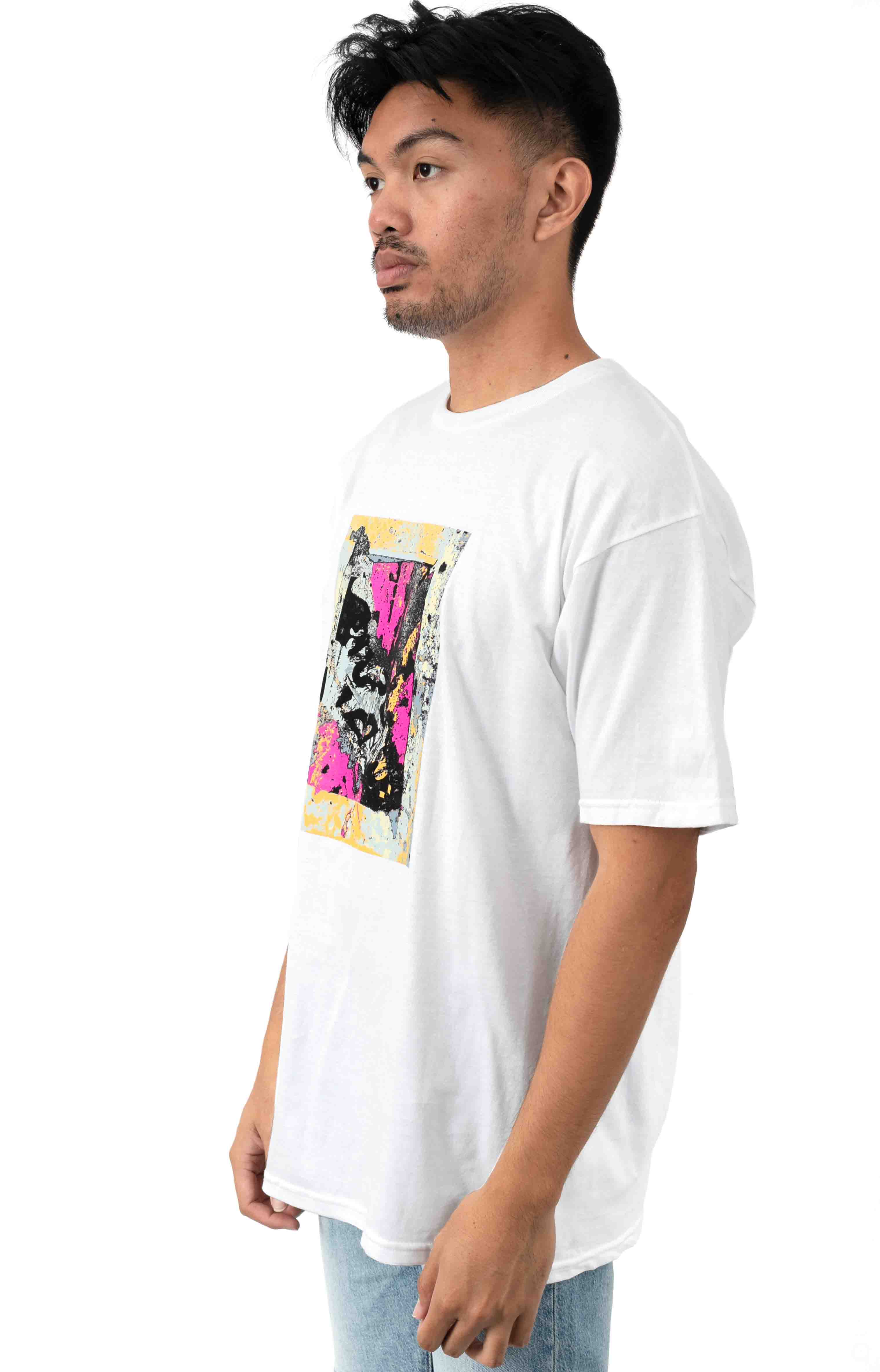 Enhanced Disintegration T-Shirt - White  2