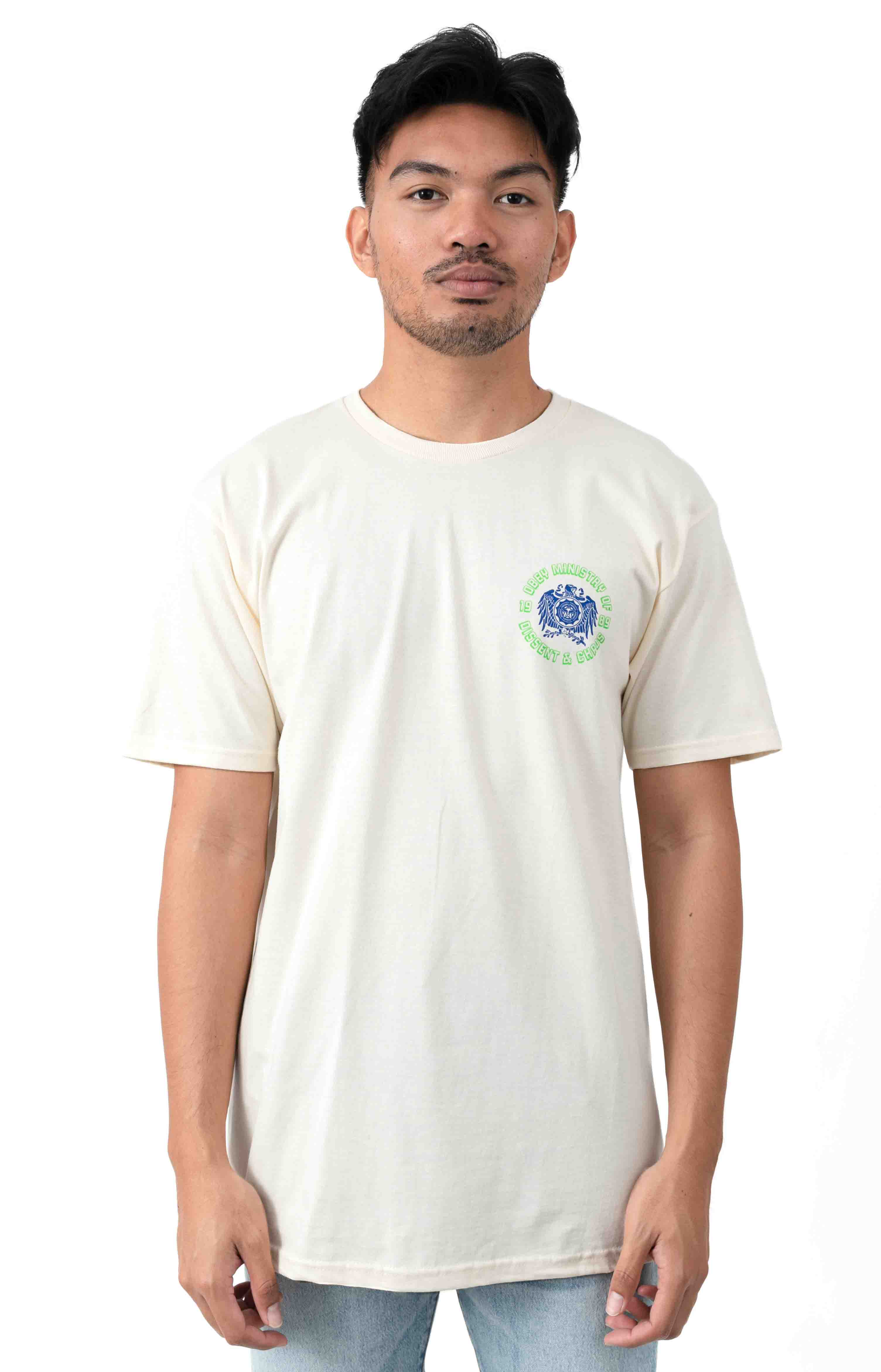 Eagle Dissent T-Shirt - Natural  2