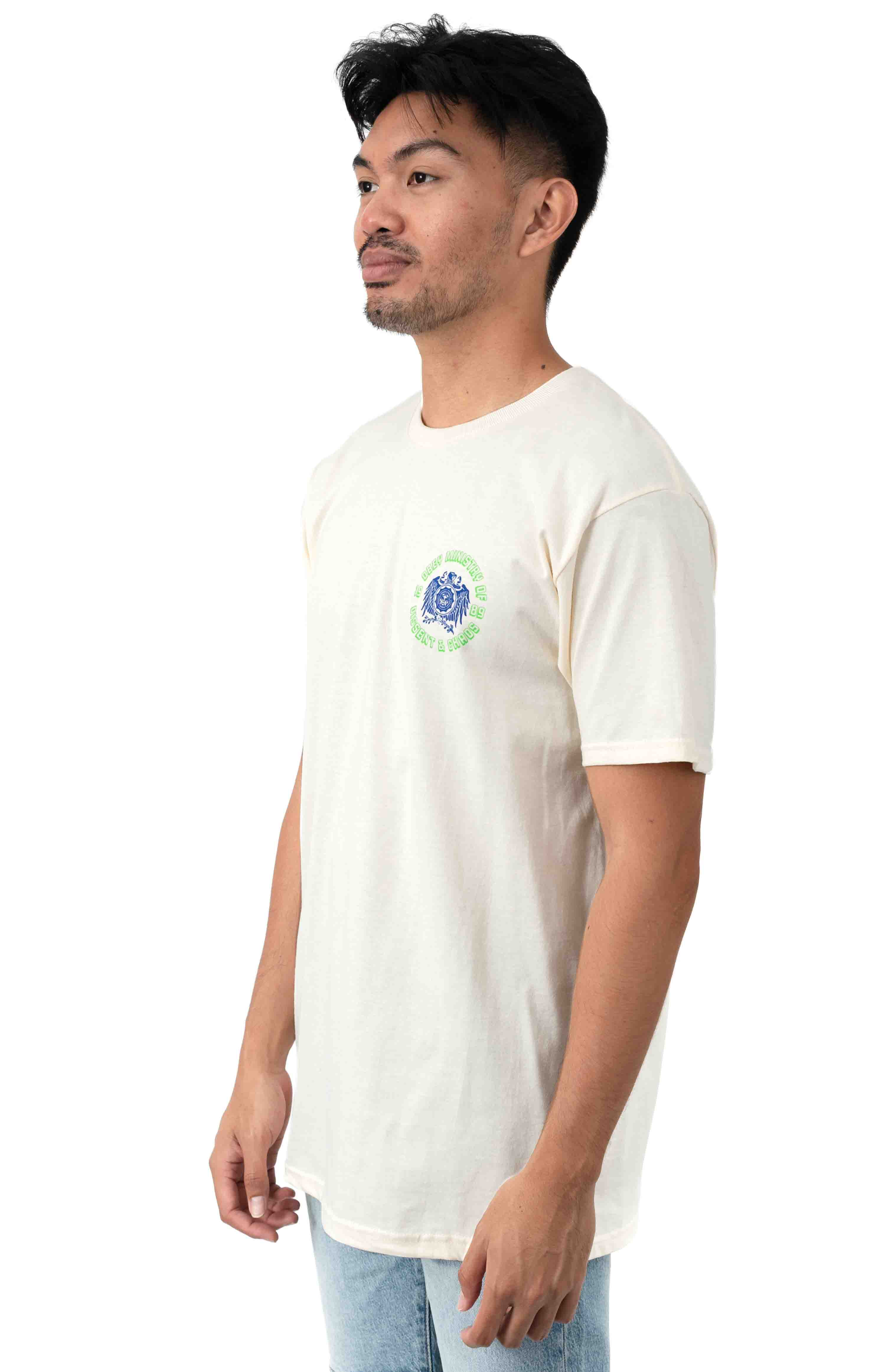 Eagle Dissent T-Shirt - Natural  3