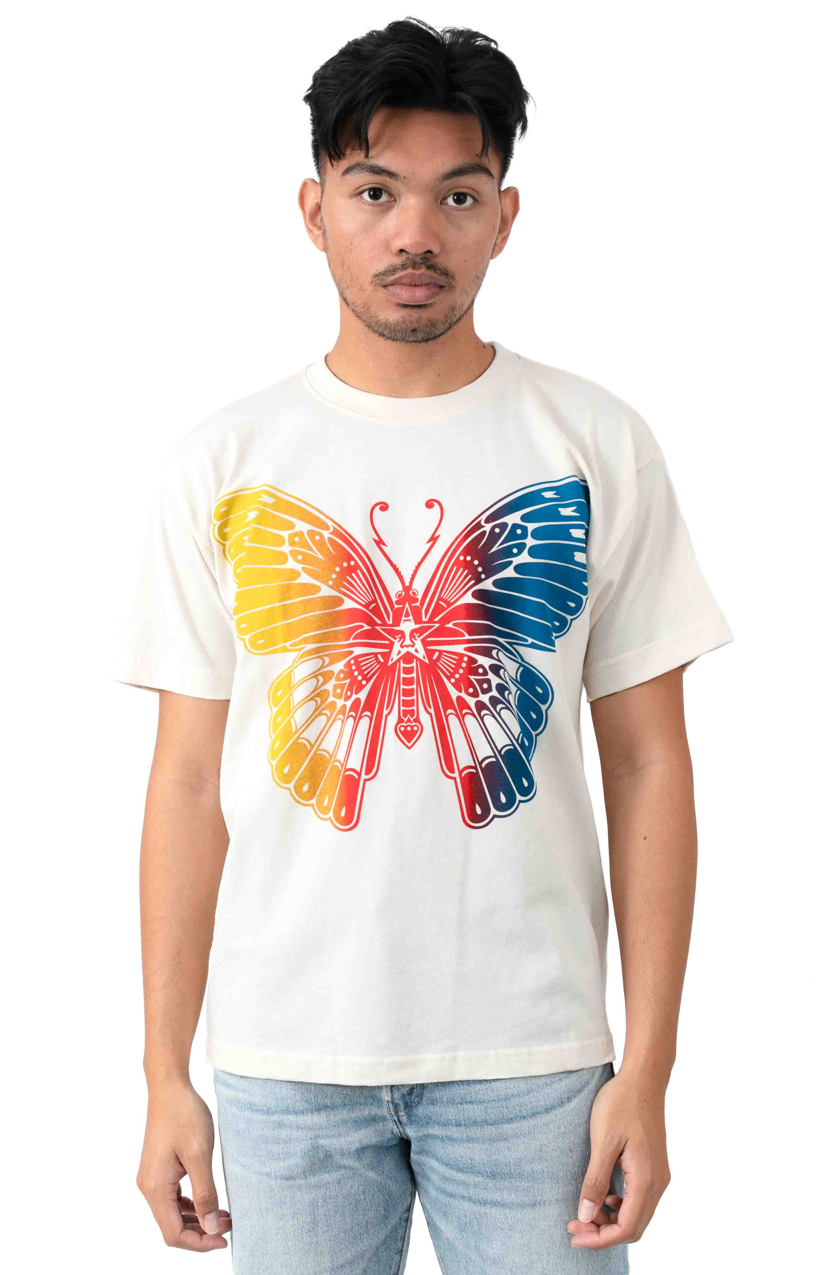 Butterfly T-Shirt - Cream