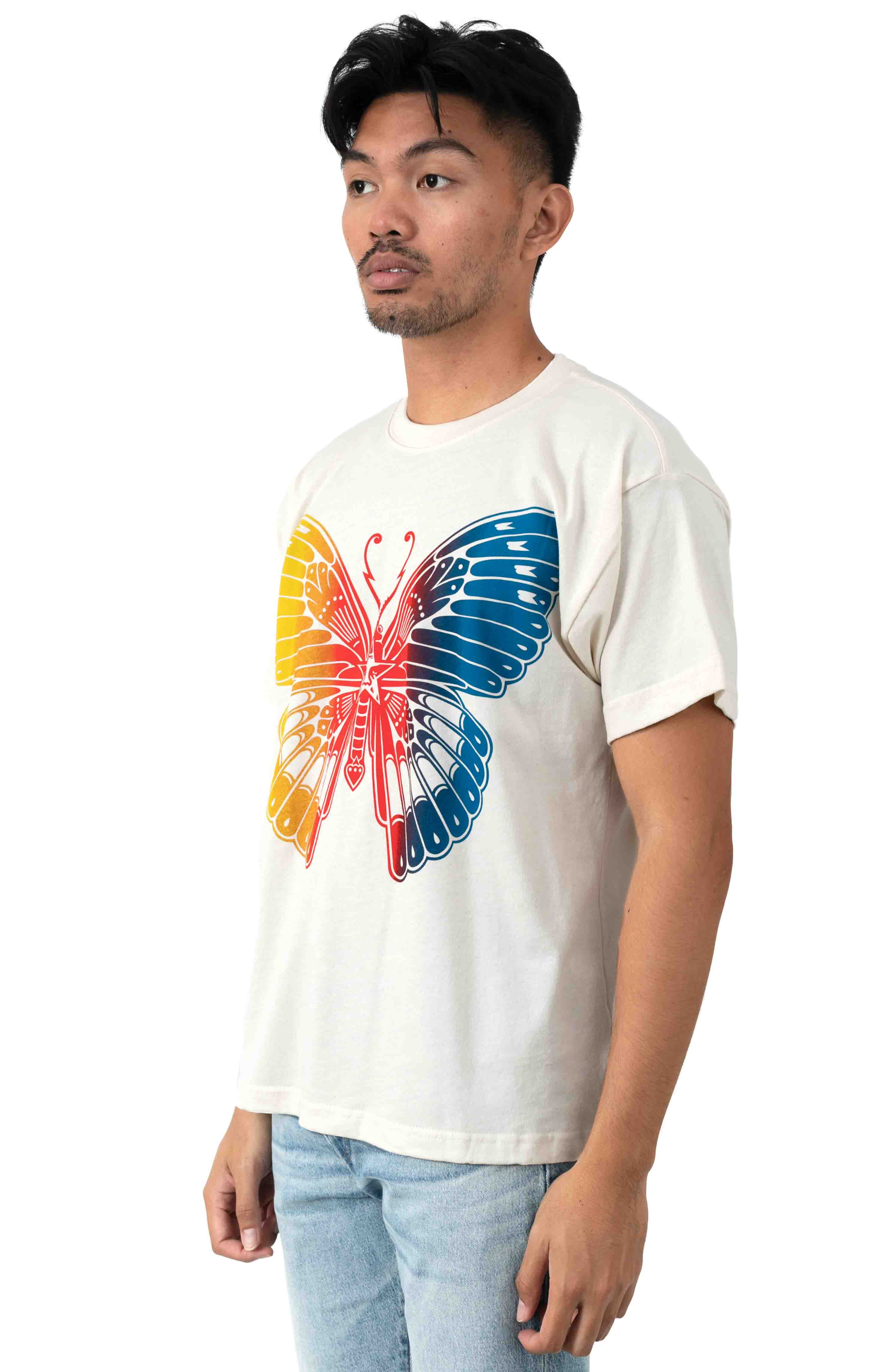 Butterfly T-Shirt - Cream 2