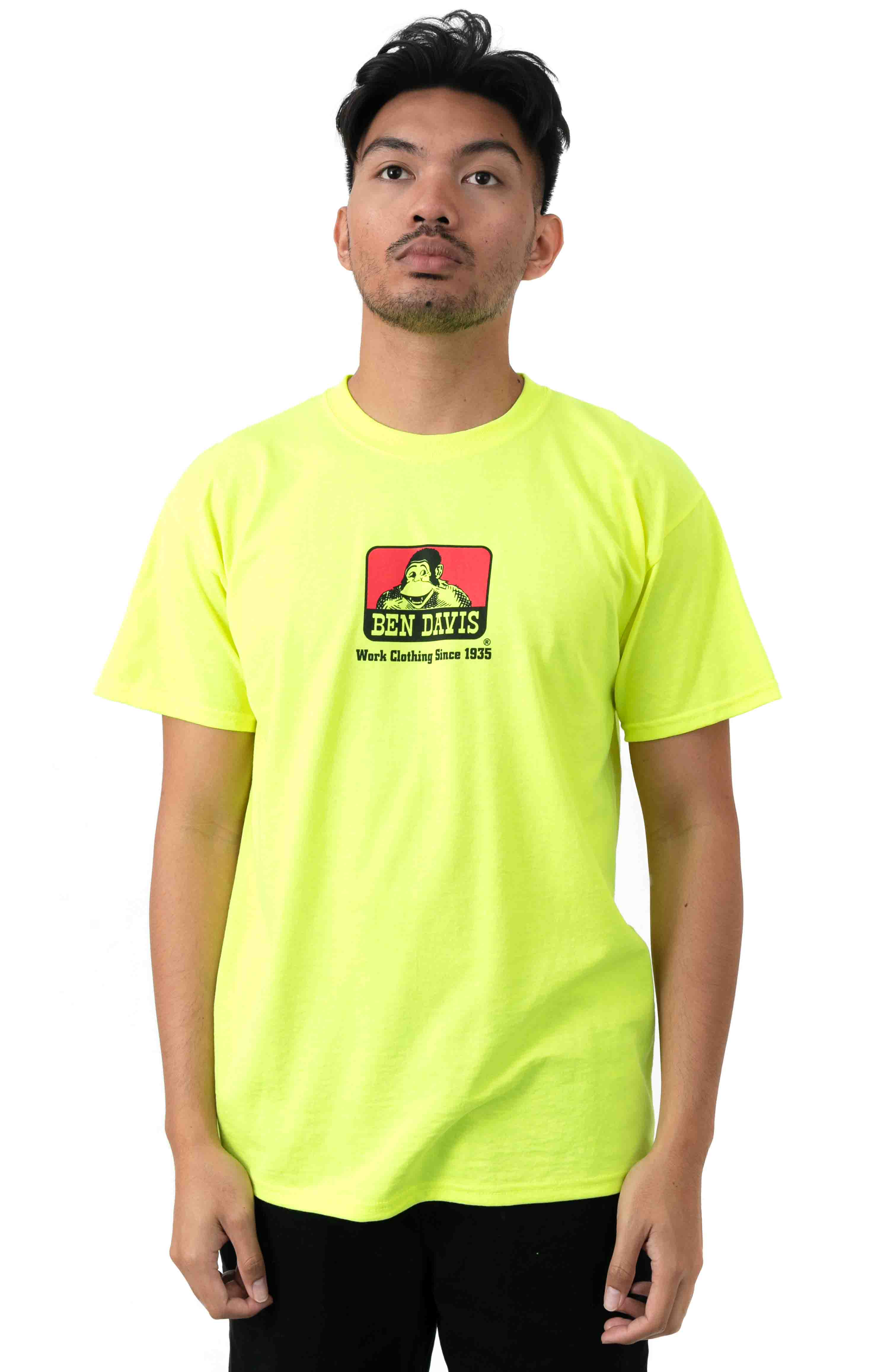 Classic Logo T-Shirt - Safety Green