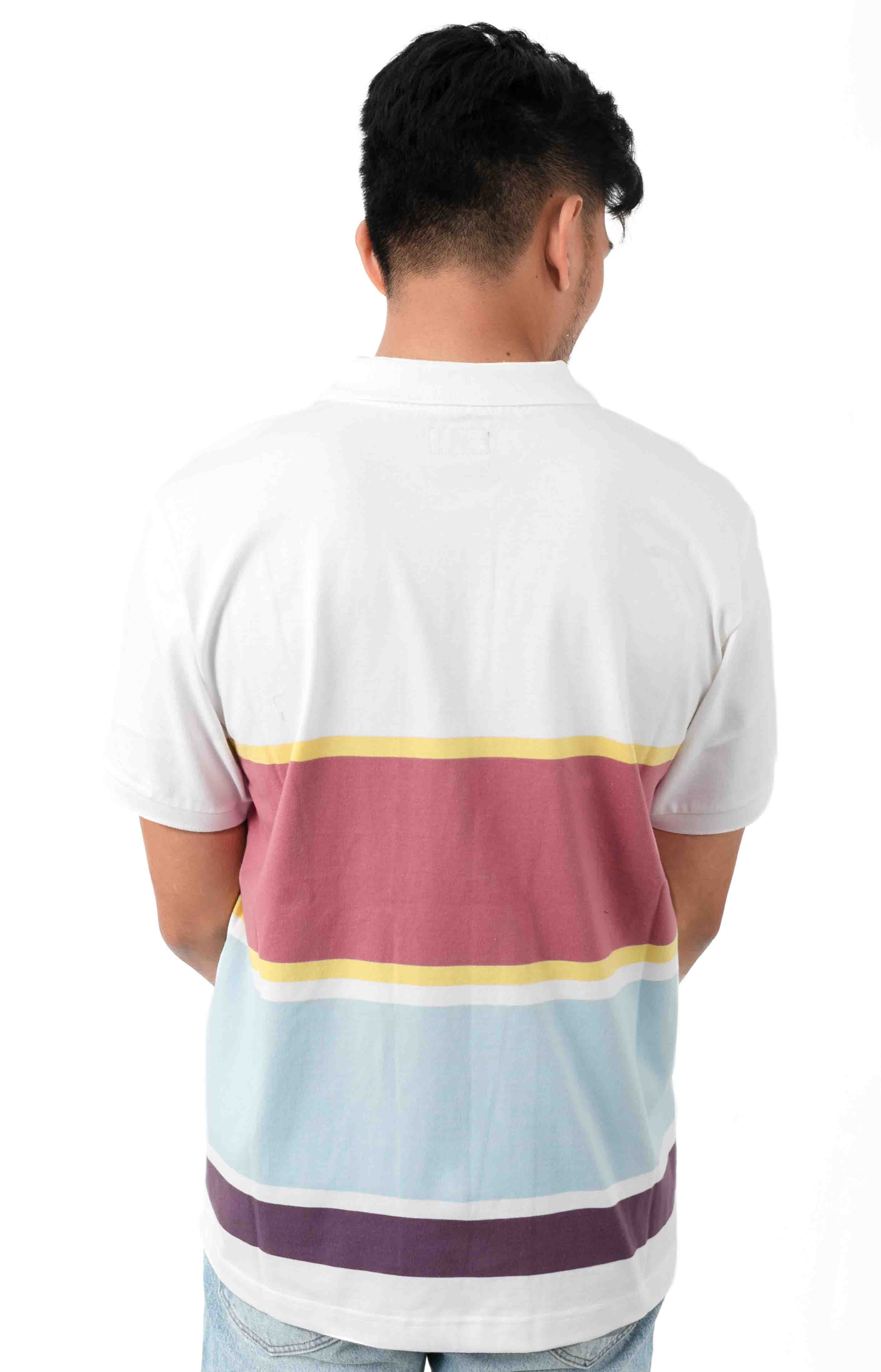 Pledge Polo - White Multi 3
