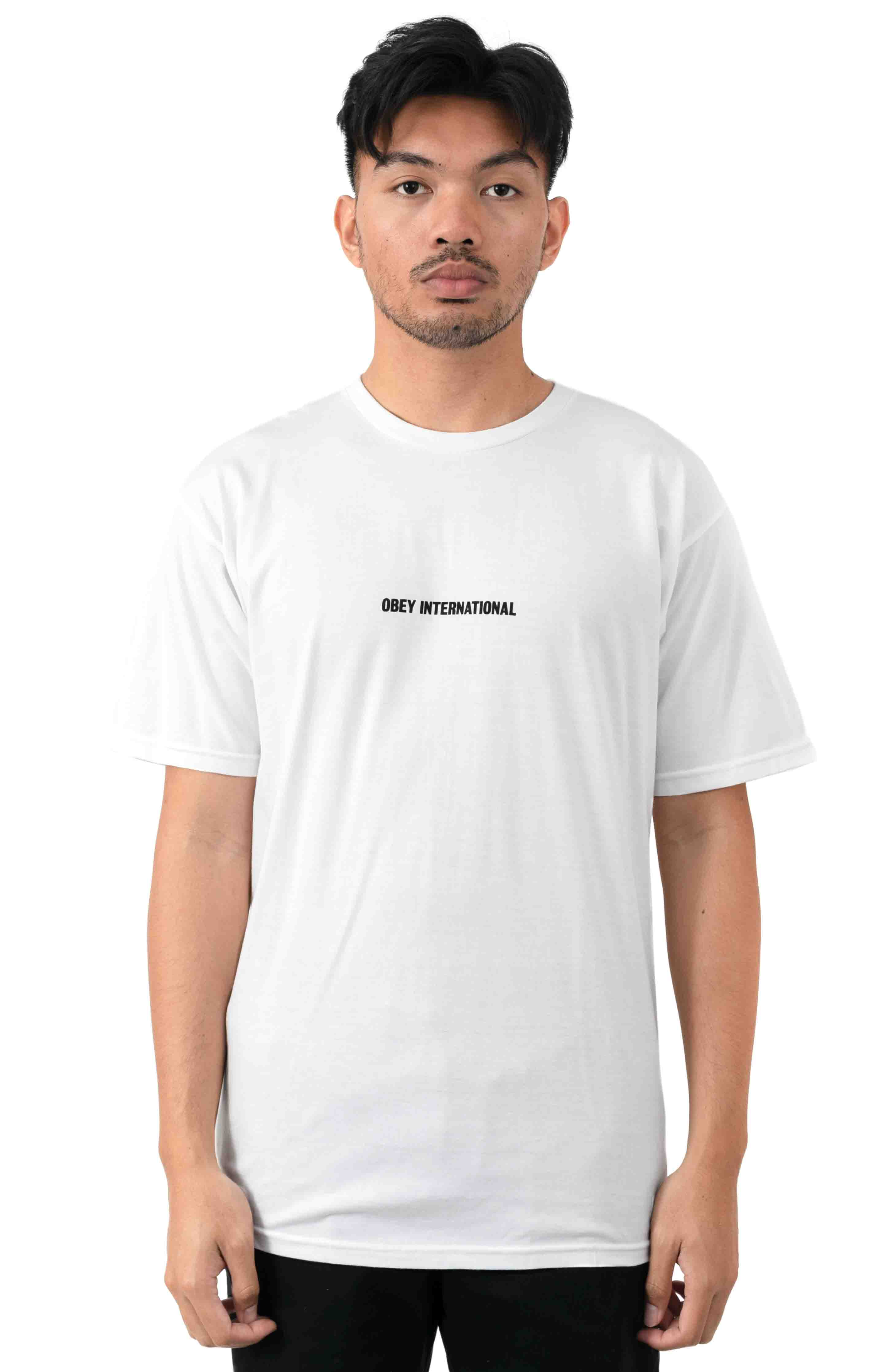 OBEY International Cities T-Shirt - White 2