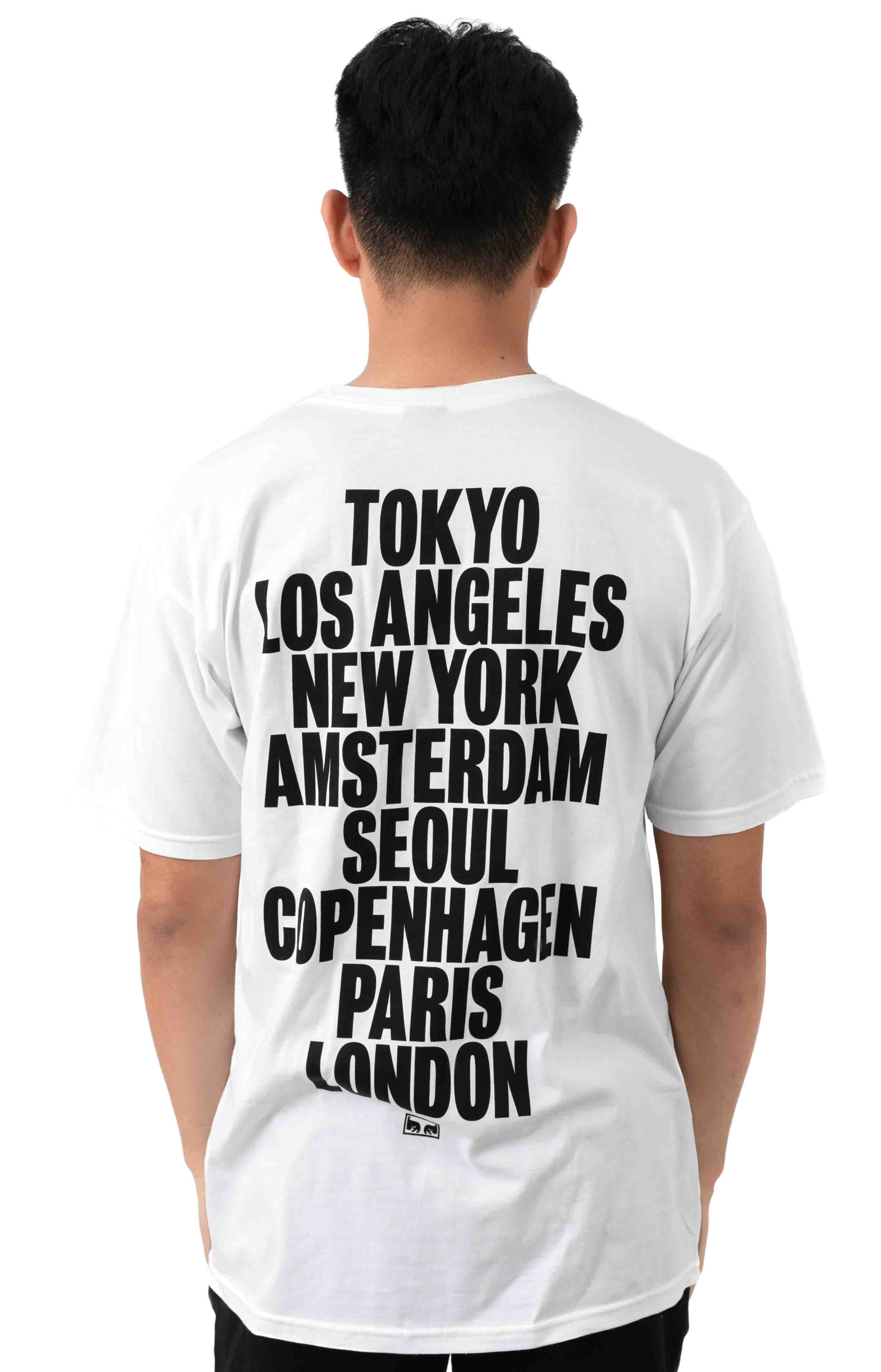 OBEY International Cities T-Shirt - White