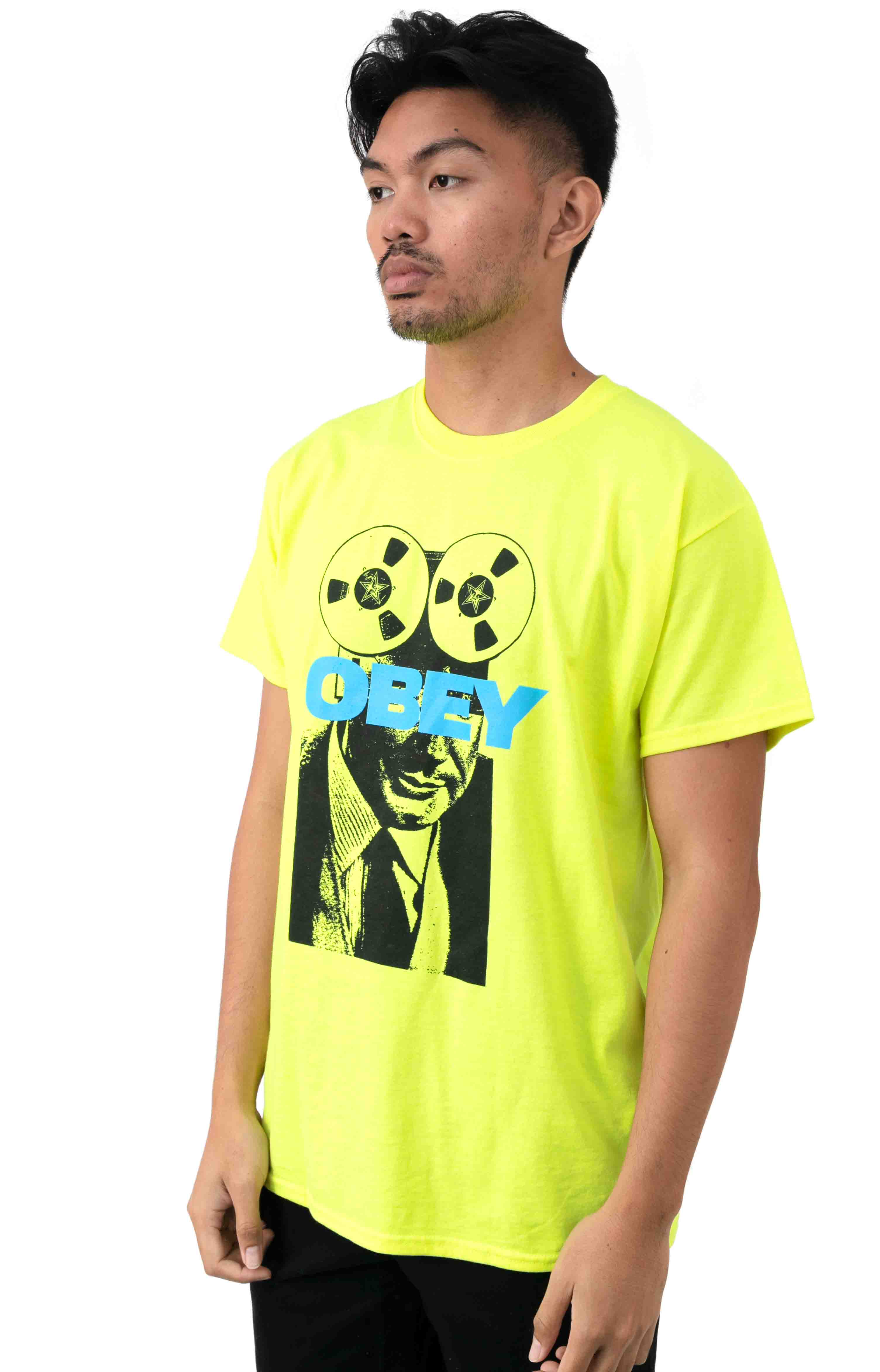 Phone Tap T-Shirt - Safety Green 2