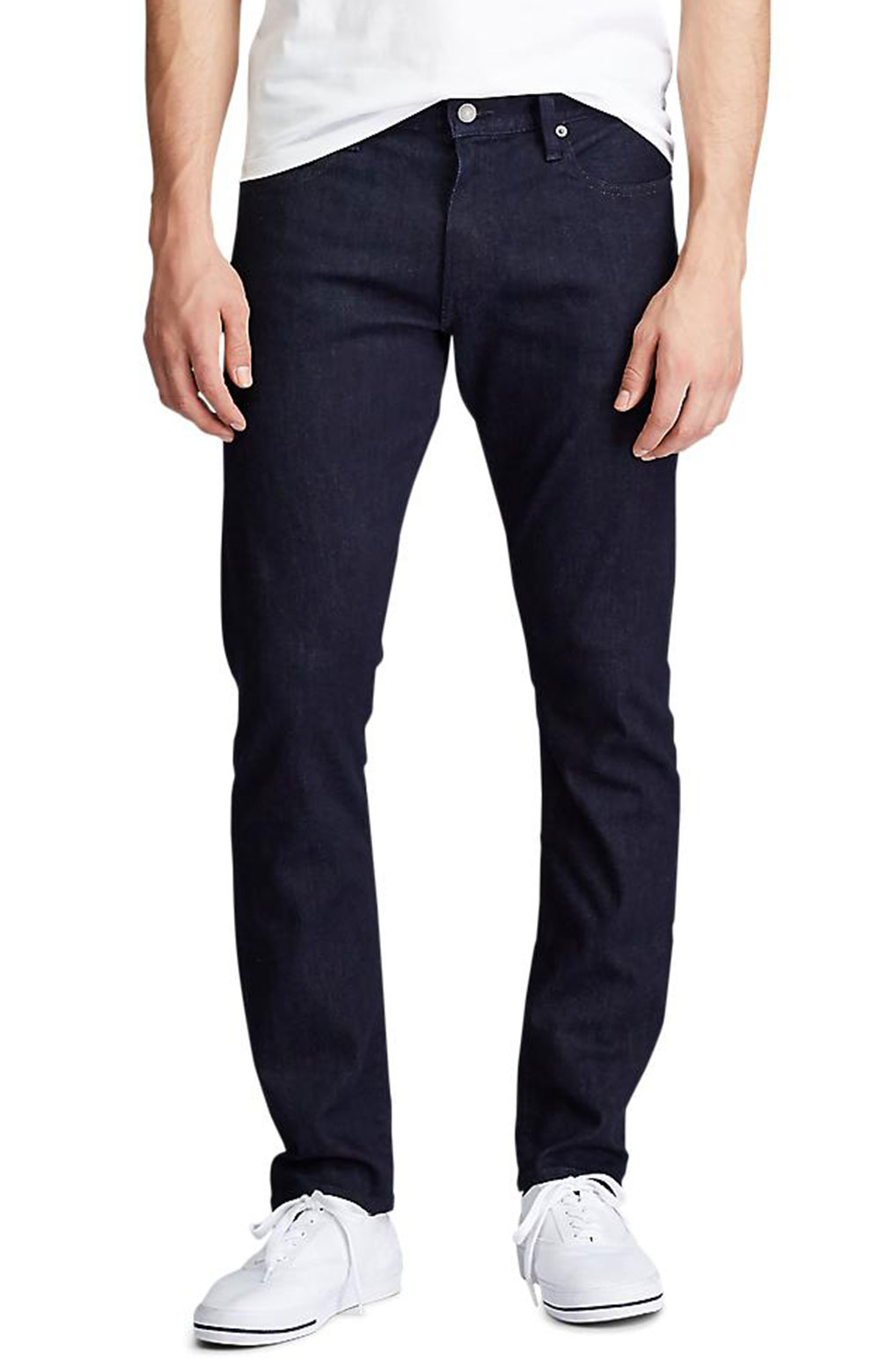 Varick Slim Straight Jeans - Miller Stretch BSR
