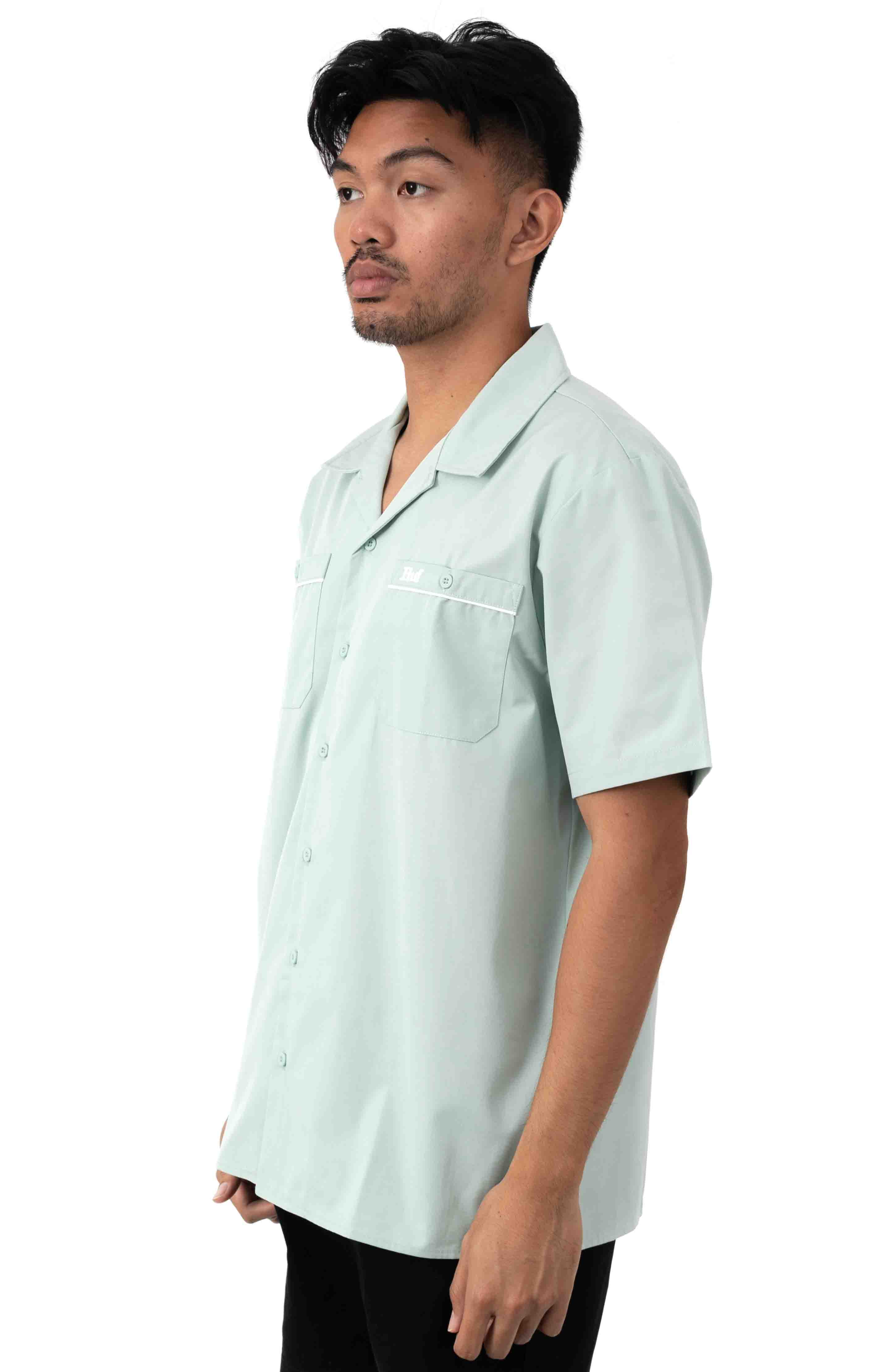 Gas Station Button-Up Shirt - Harbor Grey 2