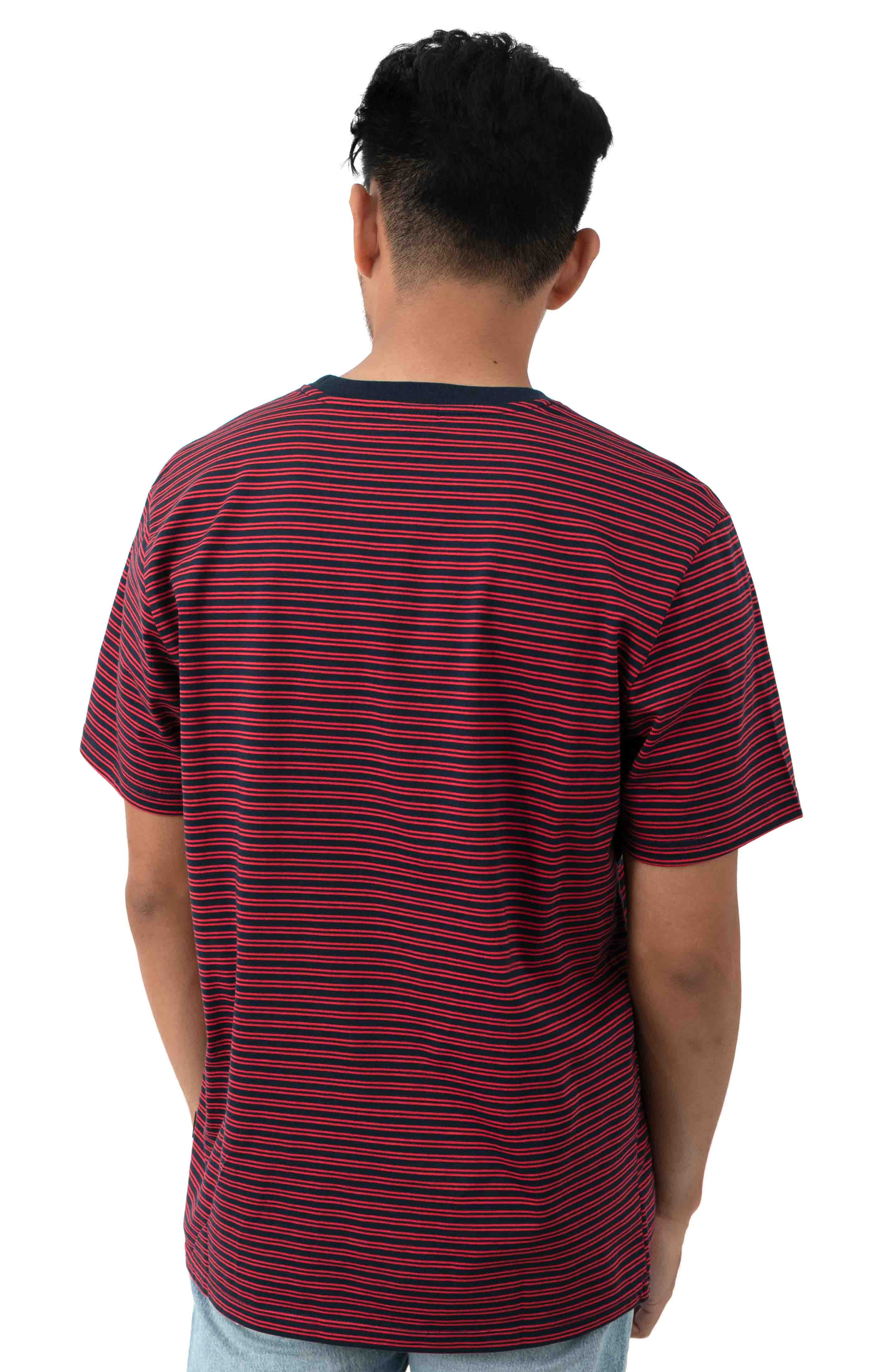 Molly Striped T-Shirt - True Red 3