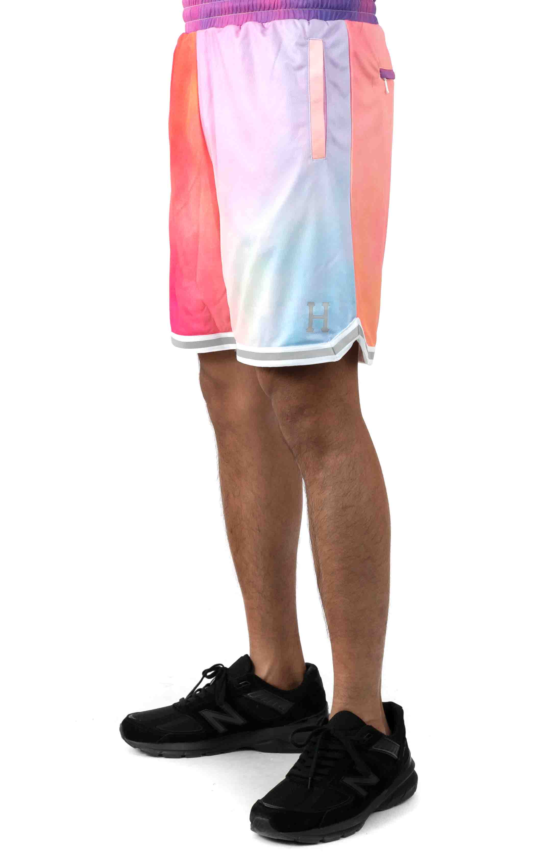 Classic H Reflex Basketball Shorts - Coral Pink