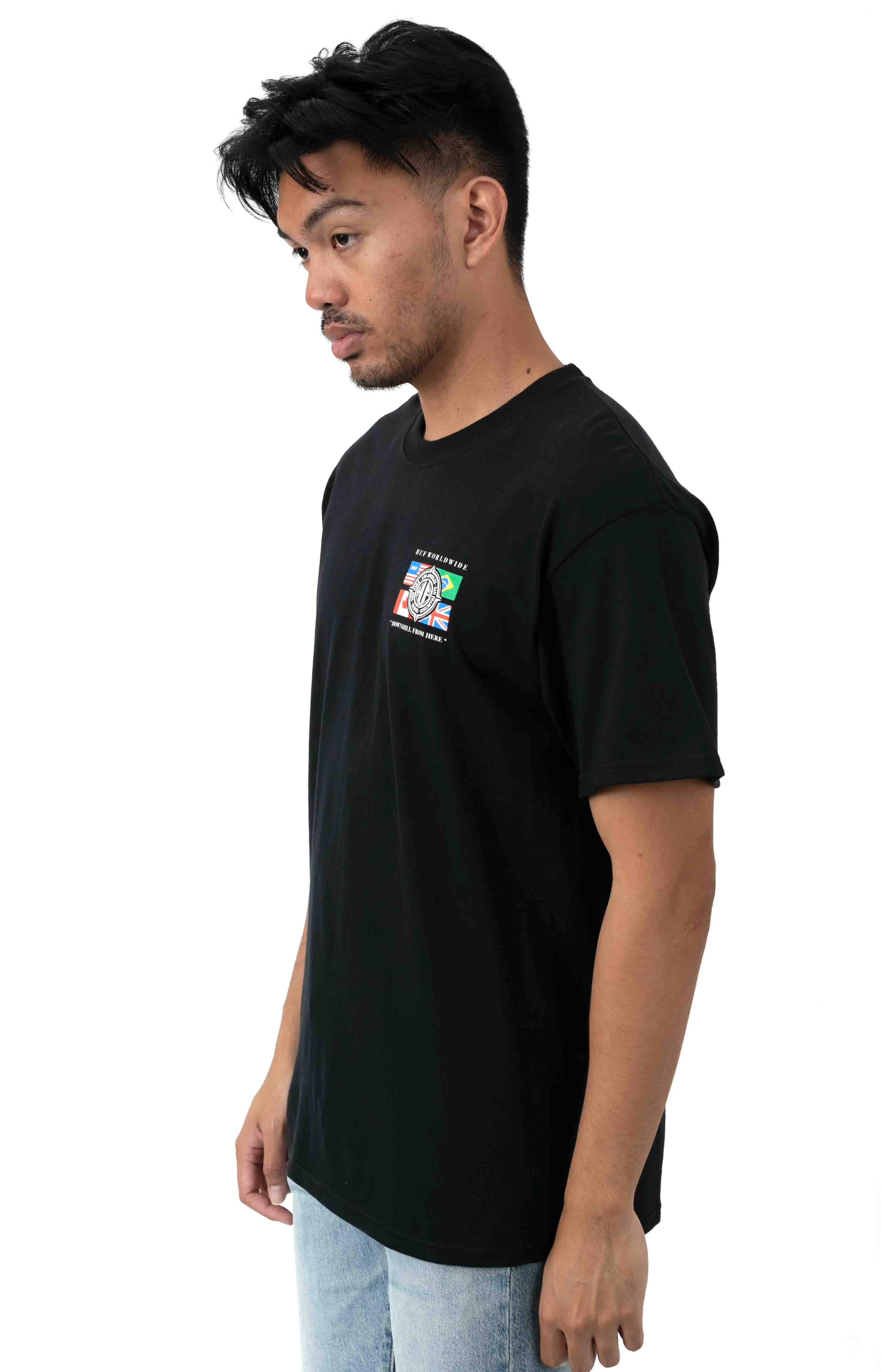 Global Wave T-Shirt - Black  3