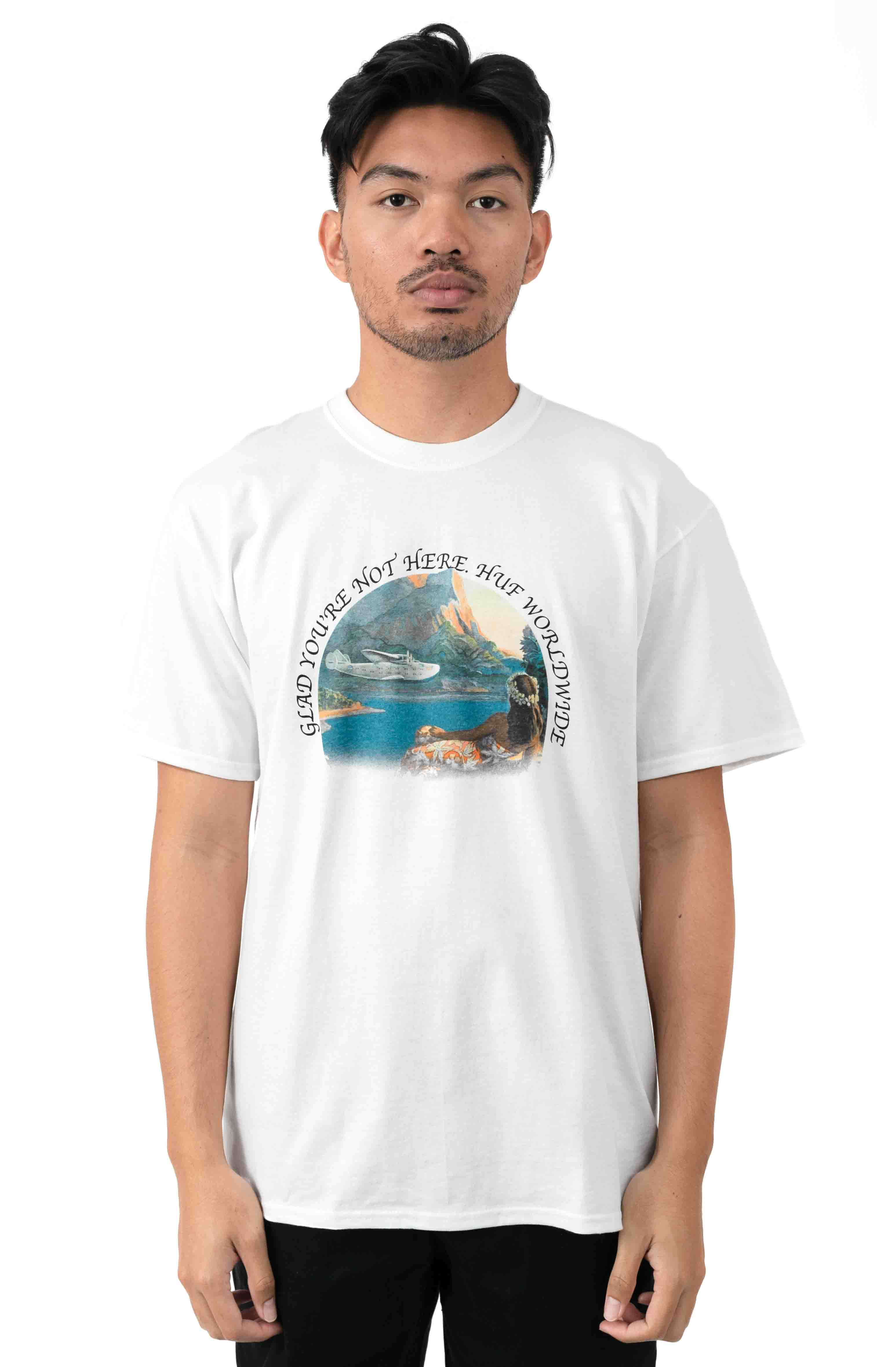 Glad You're Not Here T-Shirt - White
