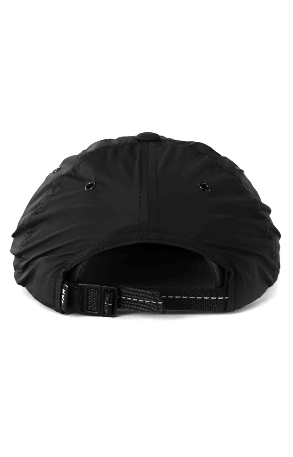 Huf Offset 6 Panel Hat - Black 3