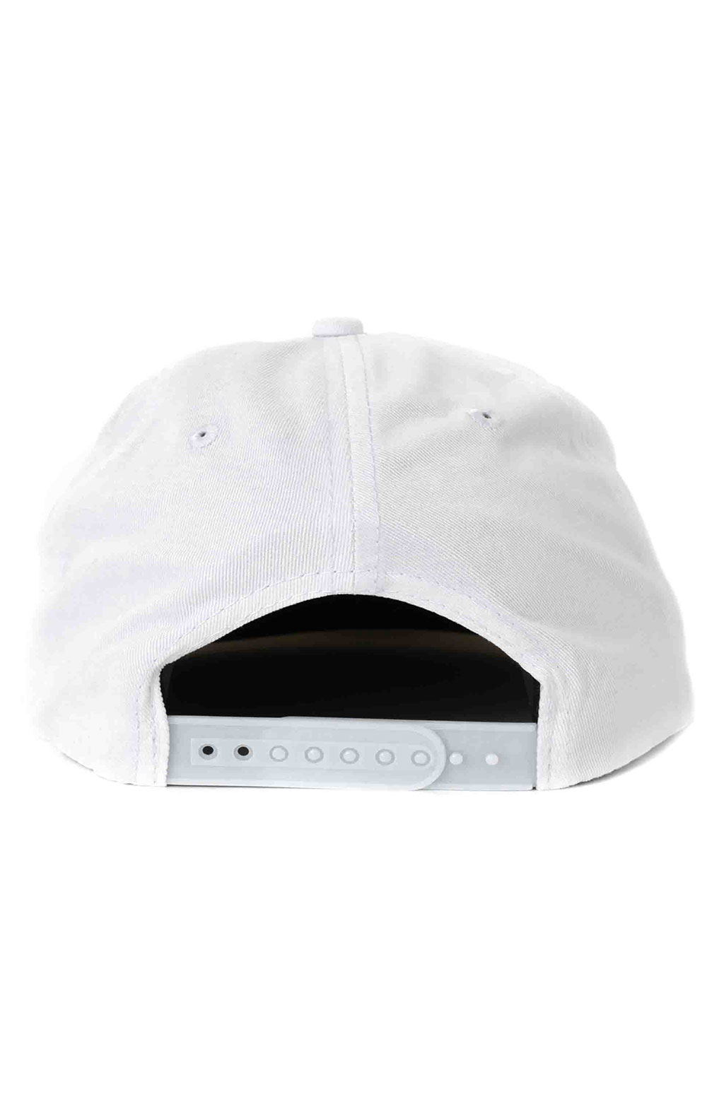 Venture Collab Snap-Back Hat - White  3