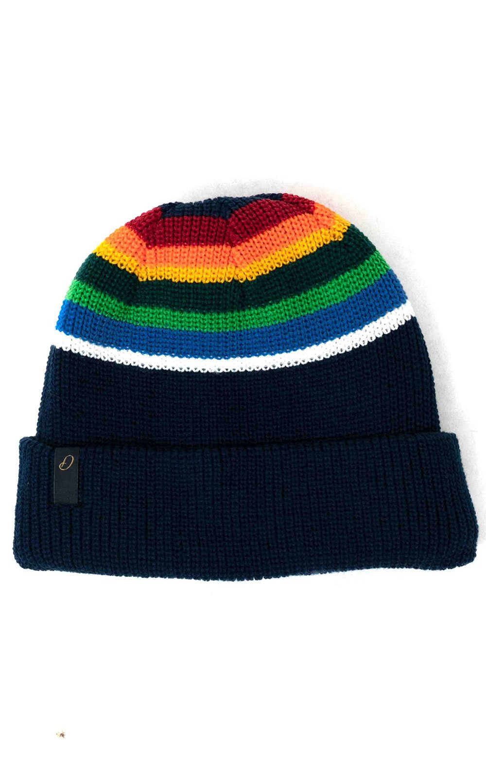 Reversible National Park Beanie - Crater Lake Stripe