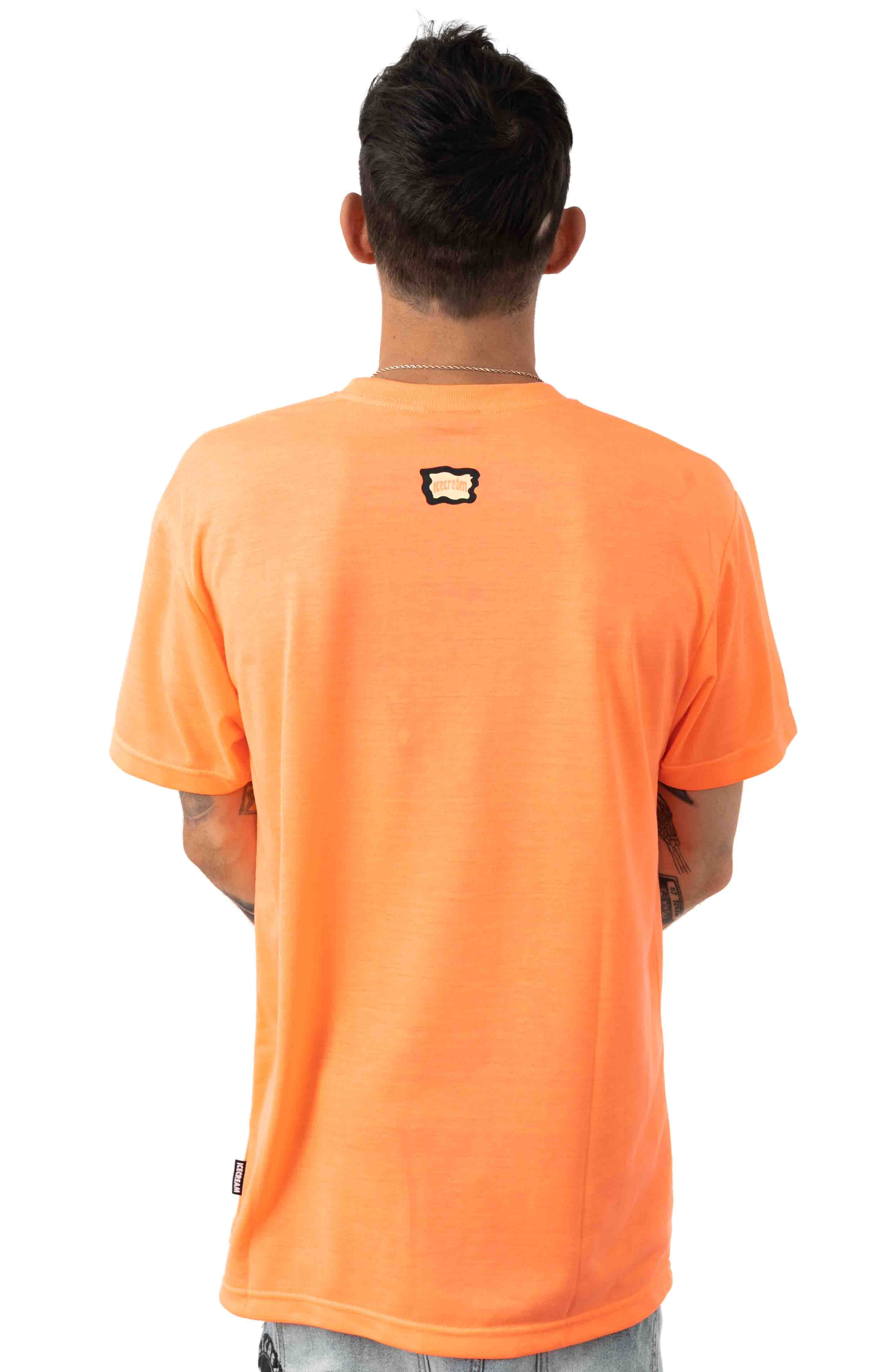 Cup T-Shirt - Neon Coral  3