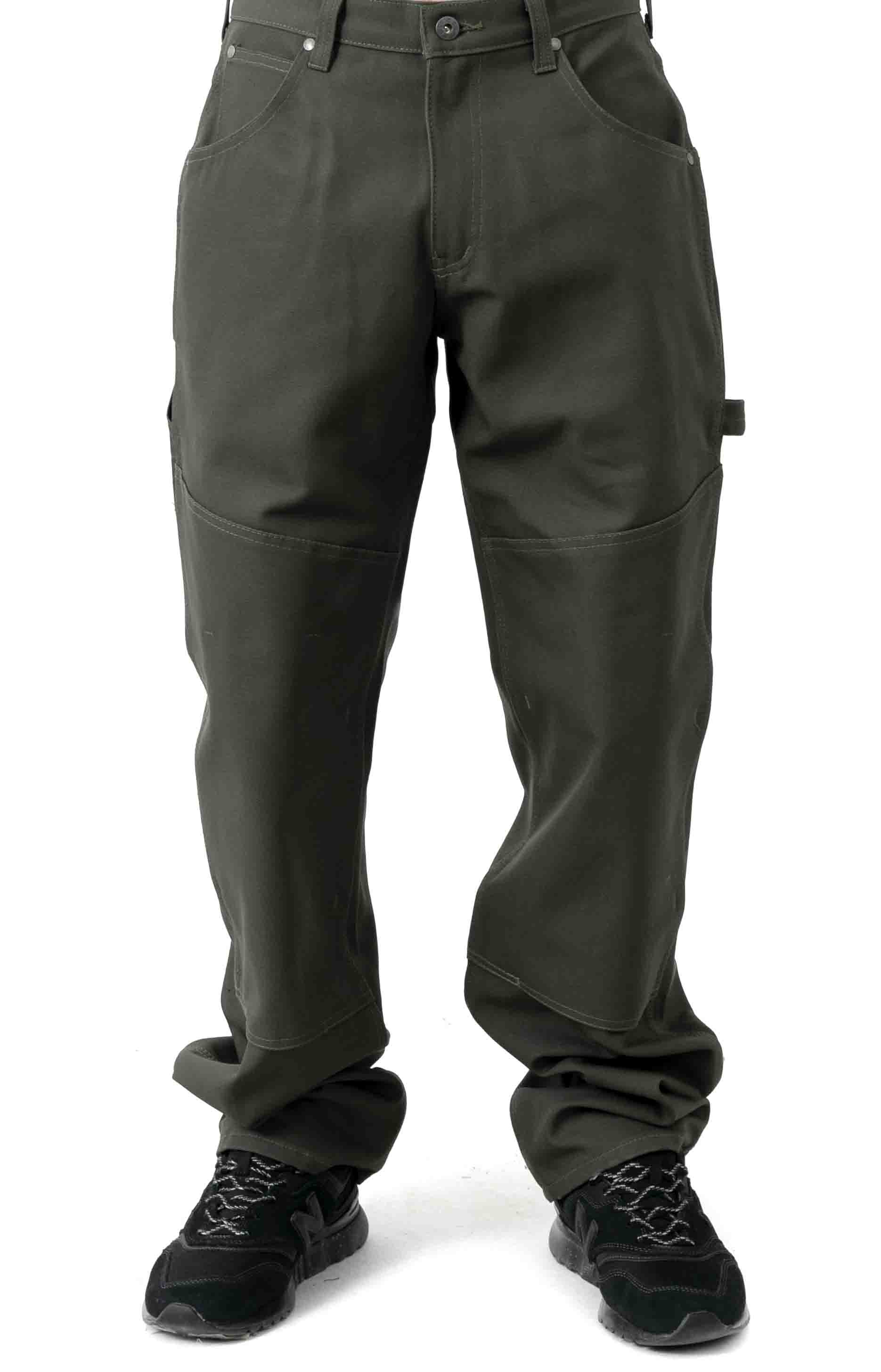 C.C.F. Utility Canvas Pant - Cannonball Green