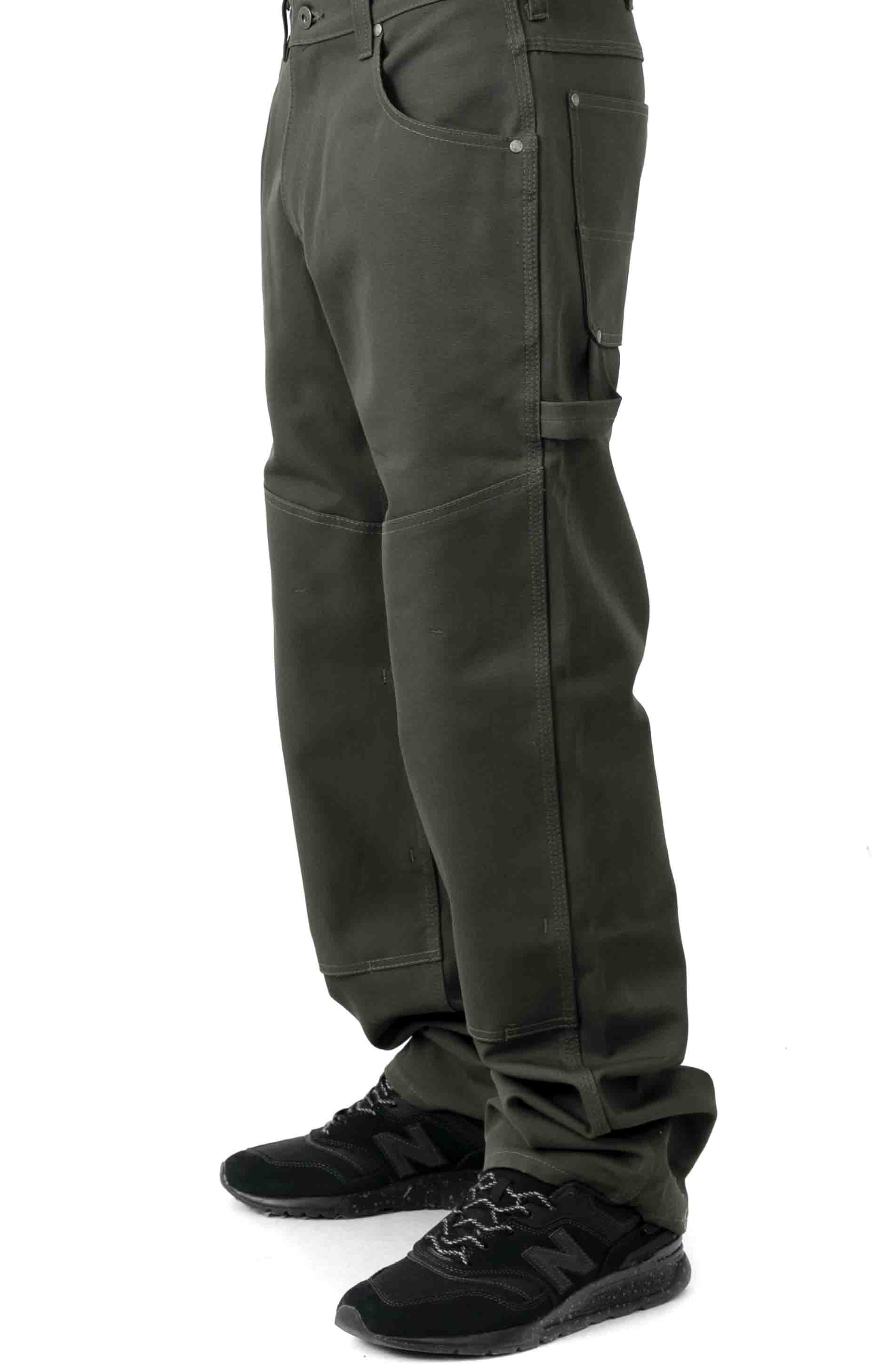 C.C.F. Utility Canvas Pant - Cannonball Green  2