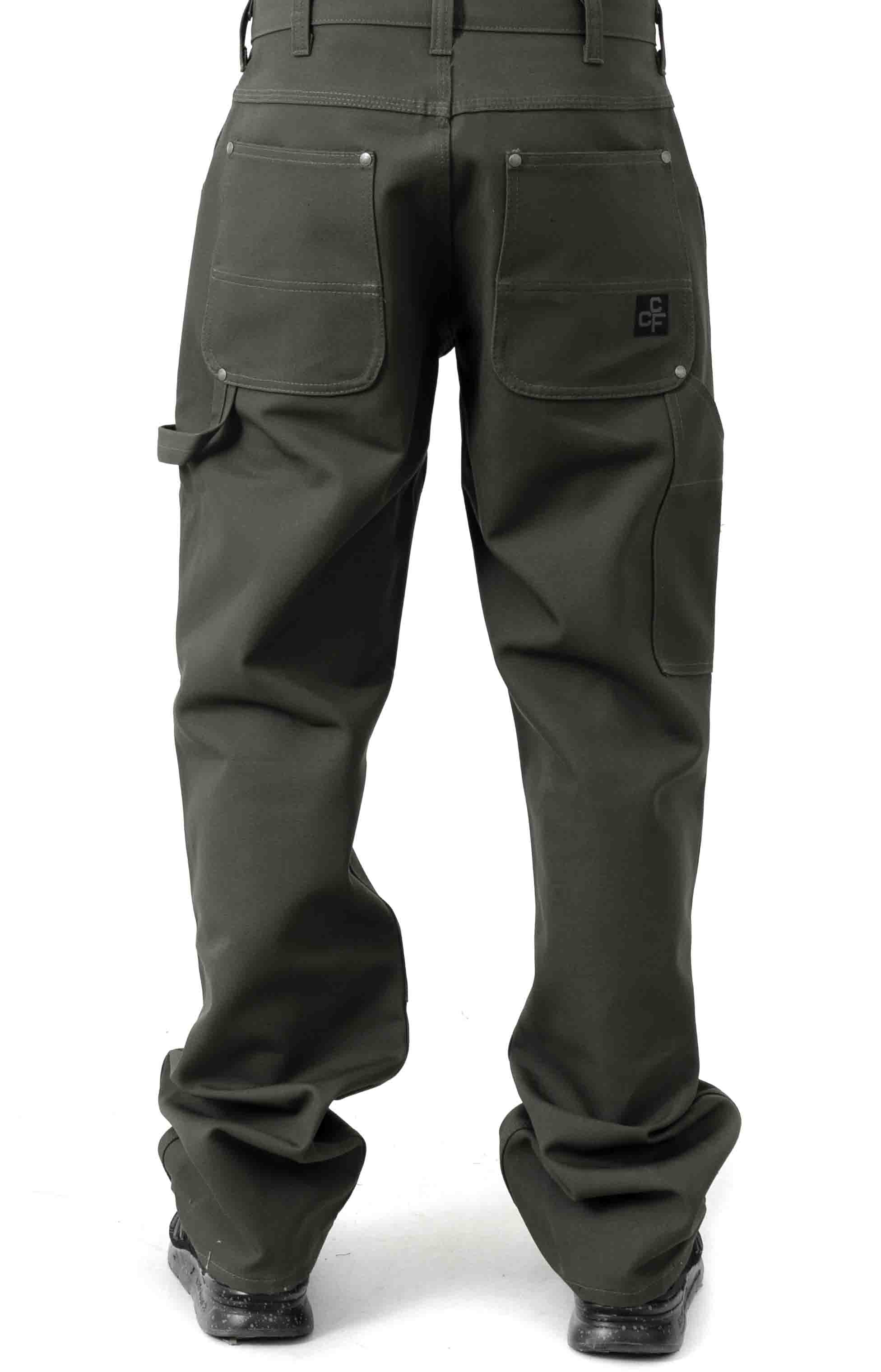 C.C.F. Utility Canvas Pant - Cannonball Green  3