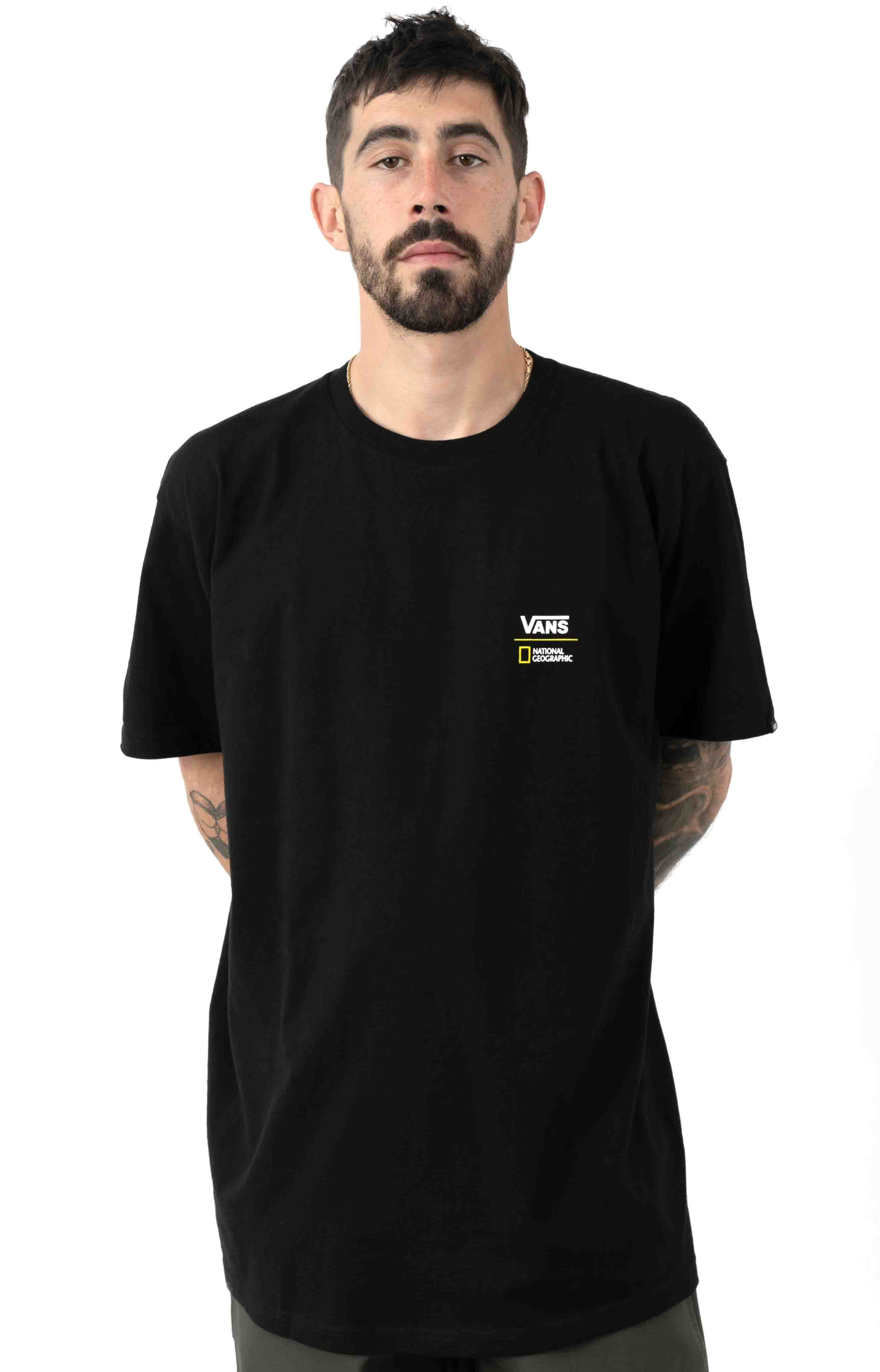 National Geographic T-Shirt - Black 2