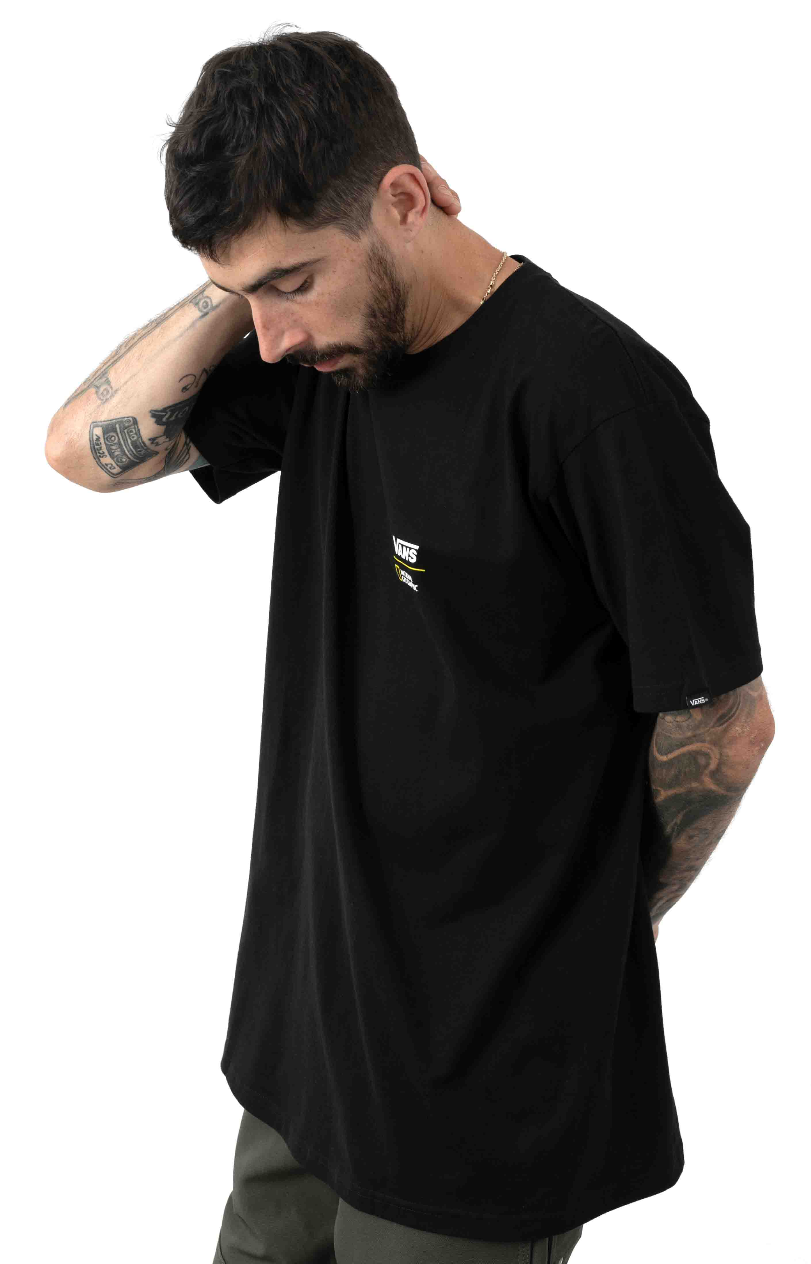 National Geographic T-Shirt - Black 3